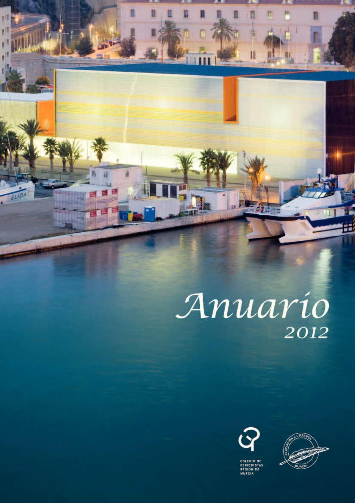 Calam O Anuario 2012 Colegio Oficial De Periodistas De La  # Muebles Tovar Beniel