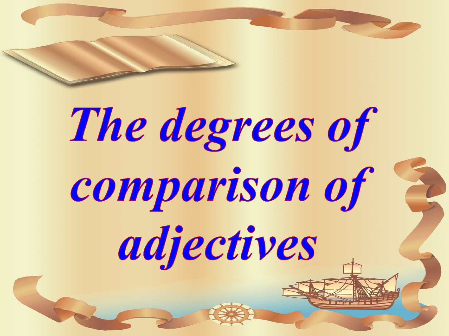 comparative degree of gentle