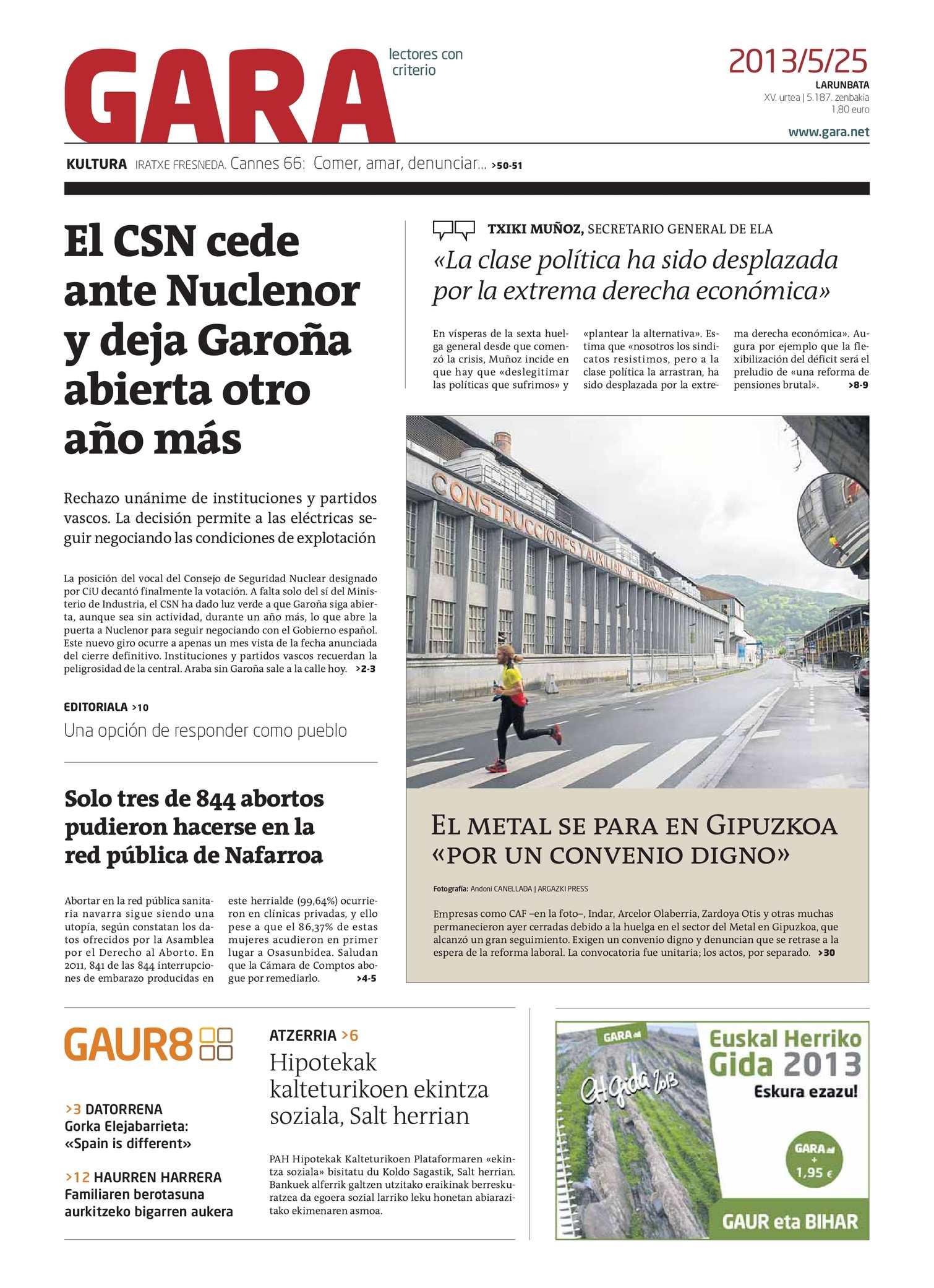 Calaméo - GARA 20130525