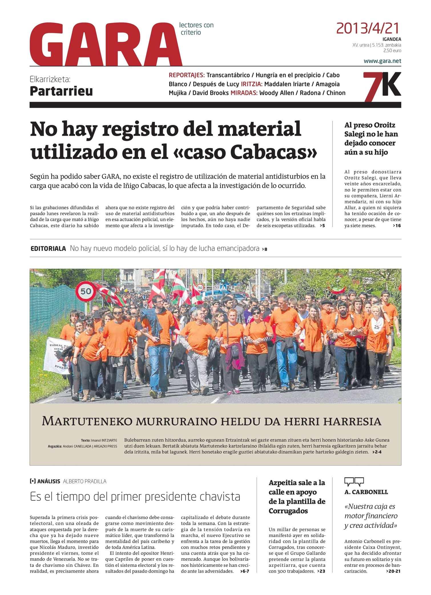 Calaméo - GARA 20130421