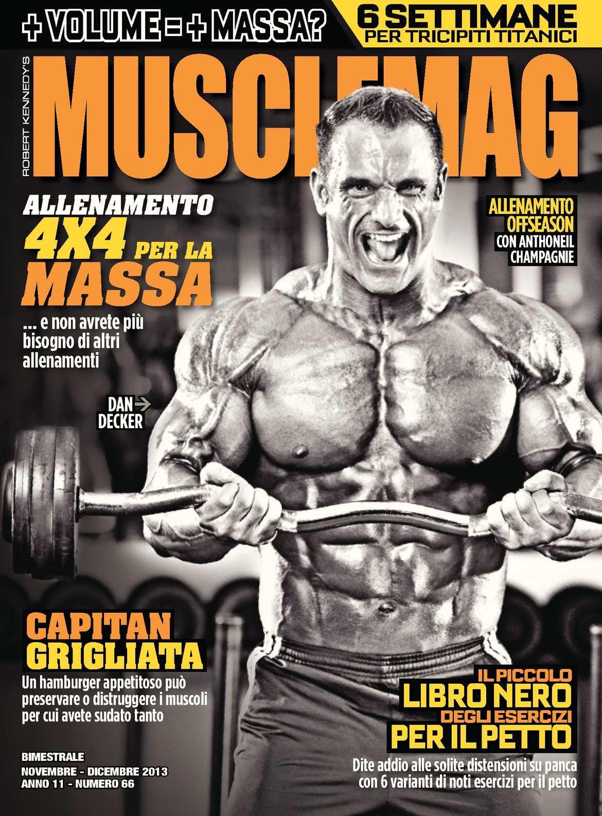 MuscleMag IT #66 - Nov/Dic 2013