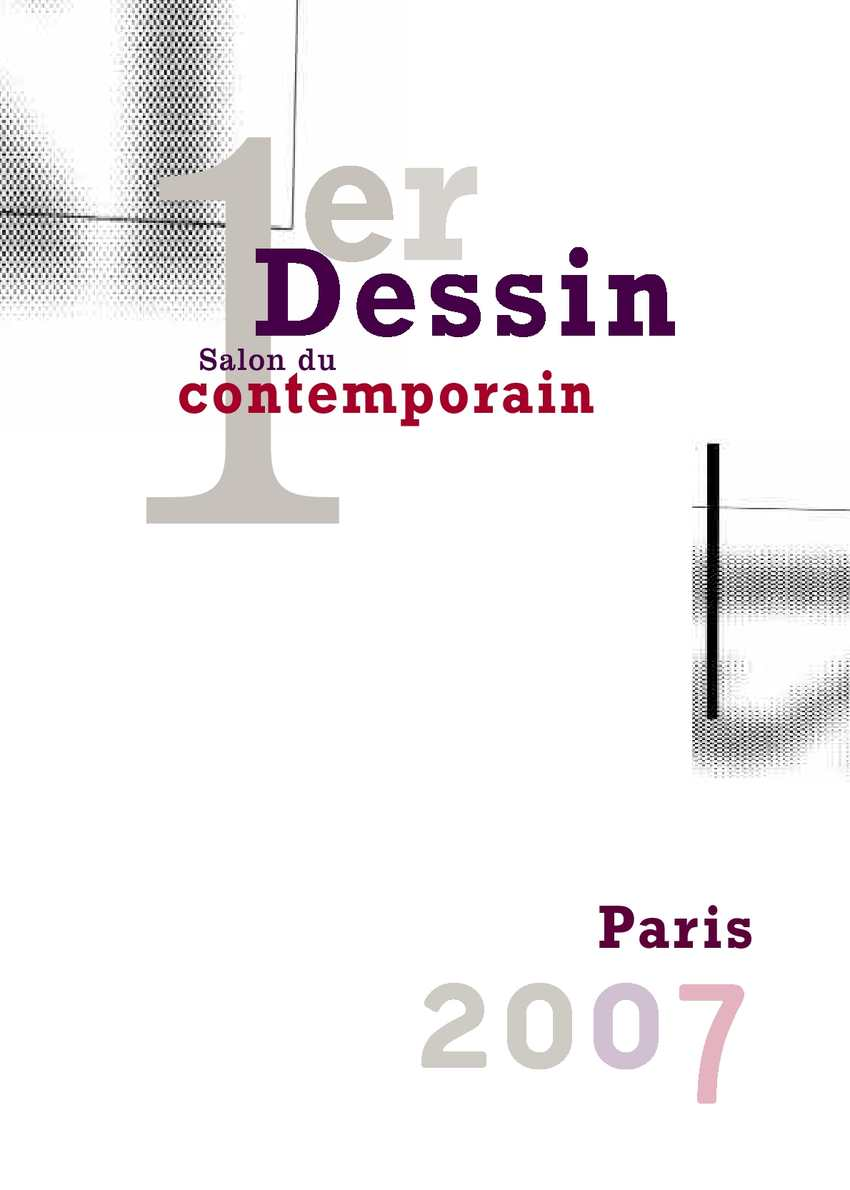 Calam o catalogue du salon du dessin contemporain 2007 - Salon dessin contemporain ...