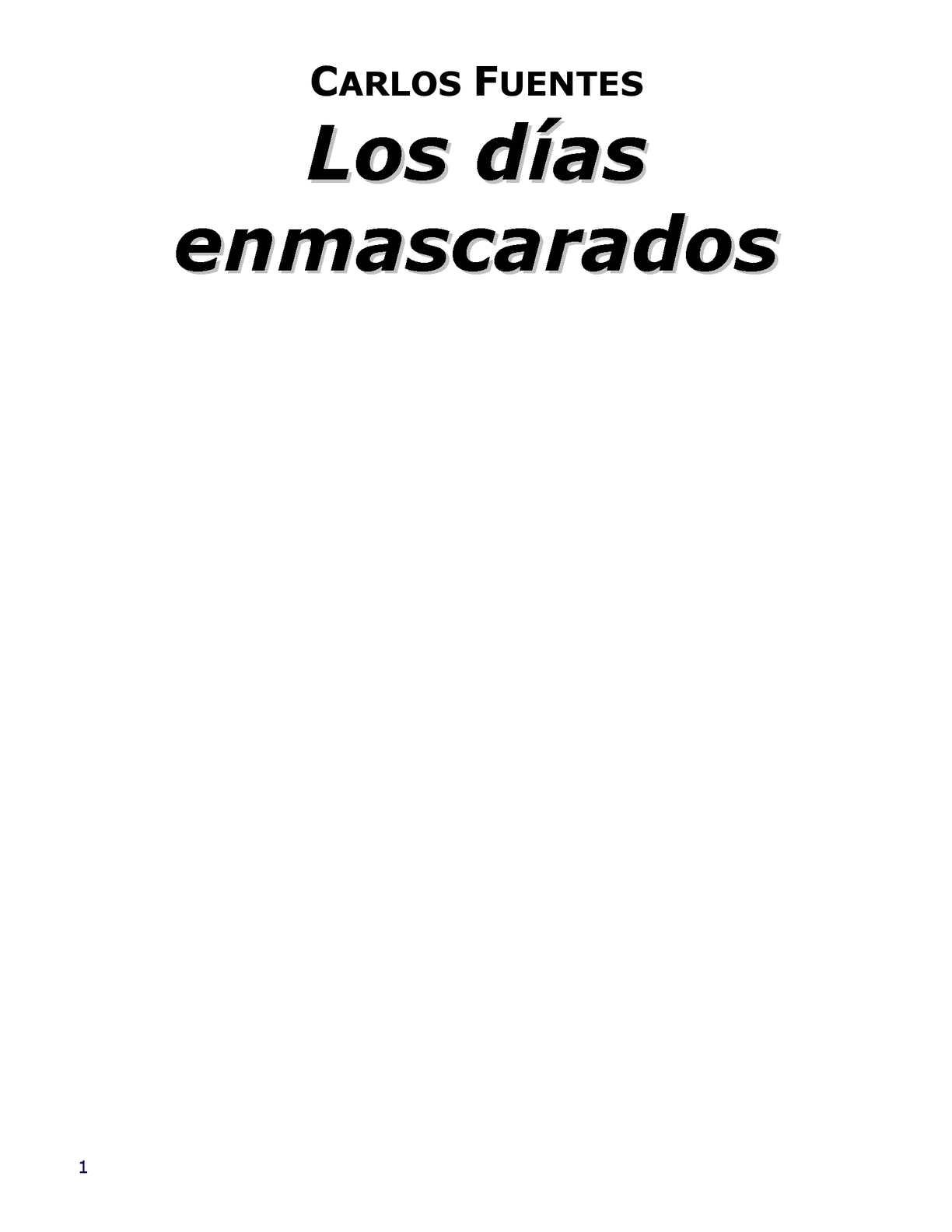 Calaméo - Cuentos de Carlos Fuentes 145eae3b090