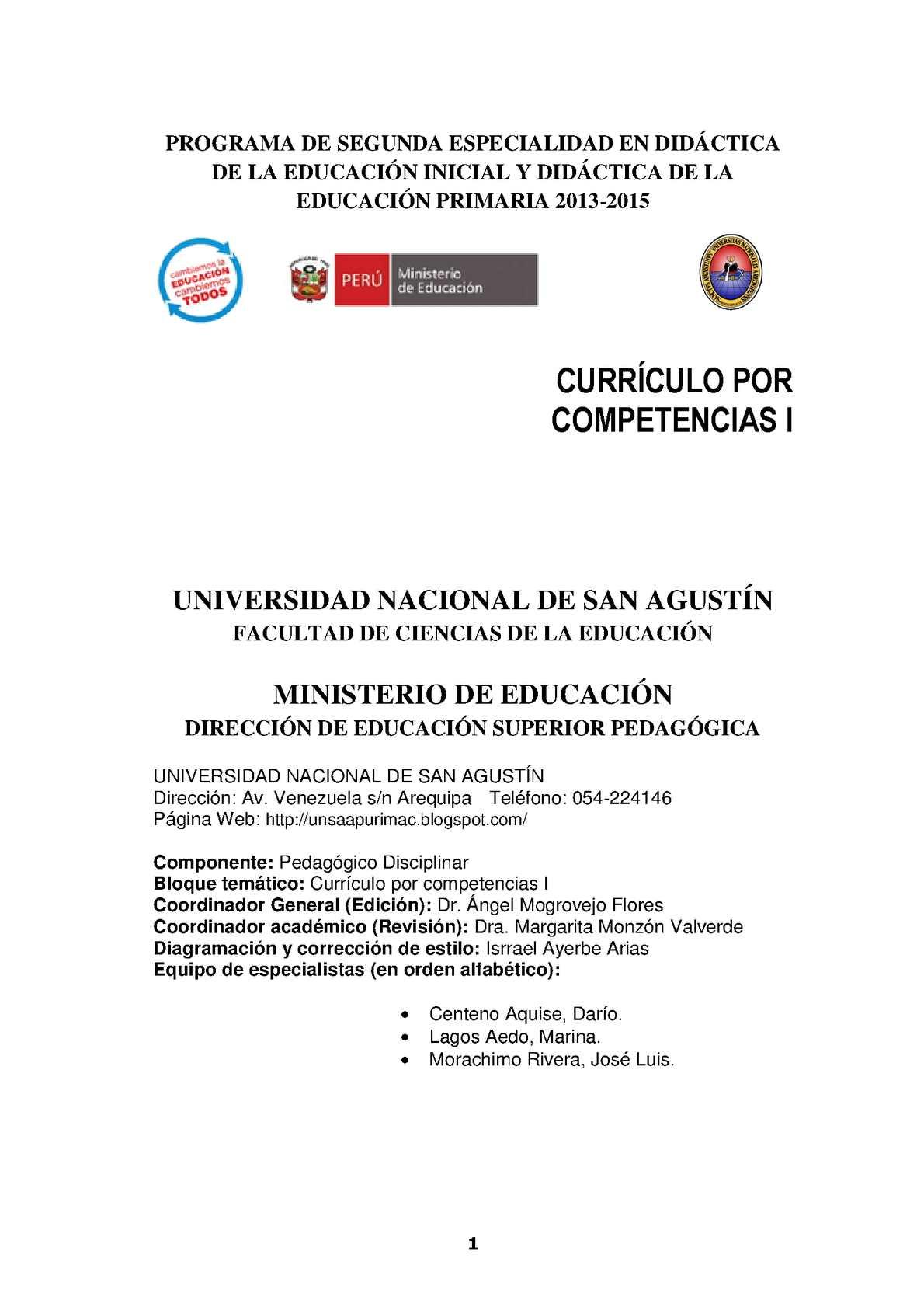 Calaméo Currculo Por Petencias Primaria