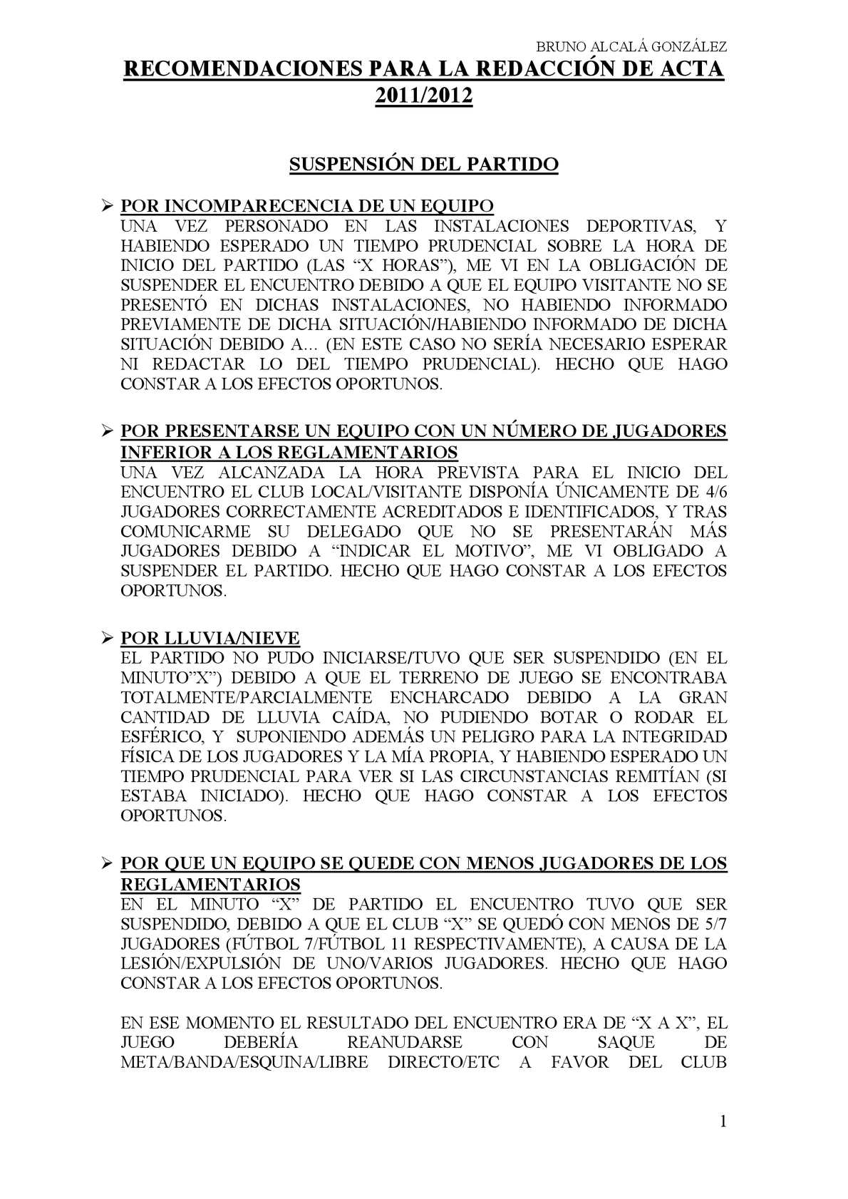 Calaméo - RECOMENDACIONES PARA LA REDACCIÓN DE ACTA
