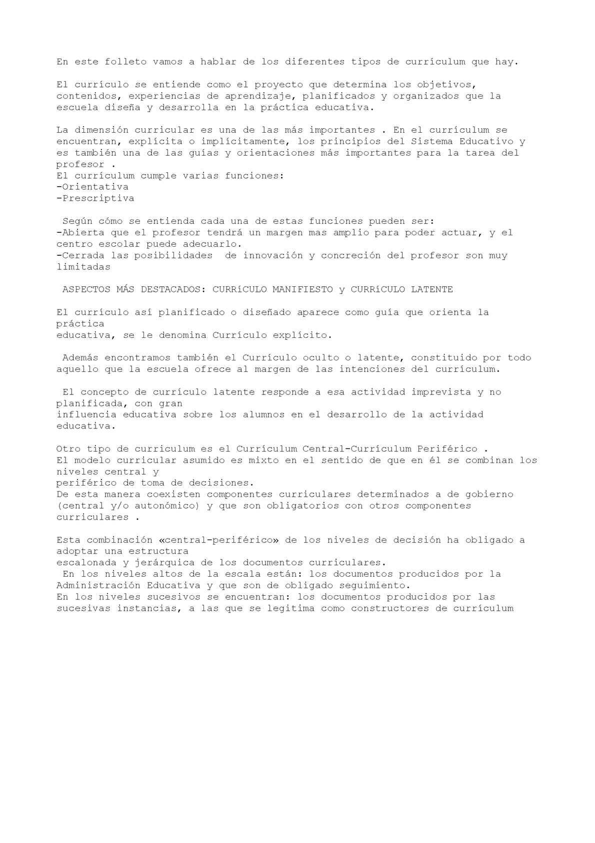 Calaméo - TIPOS DE CURRÍCULUM