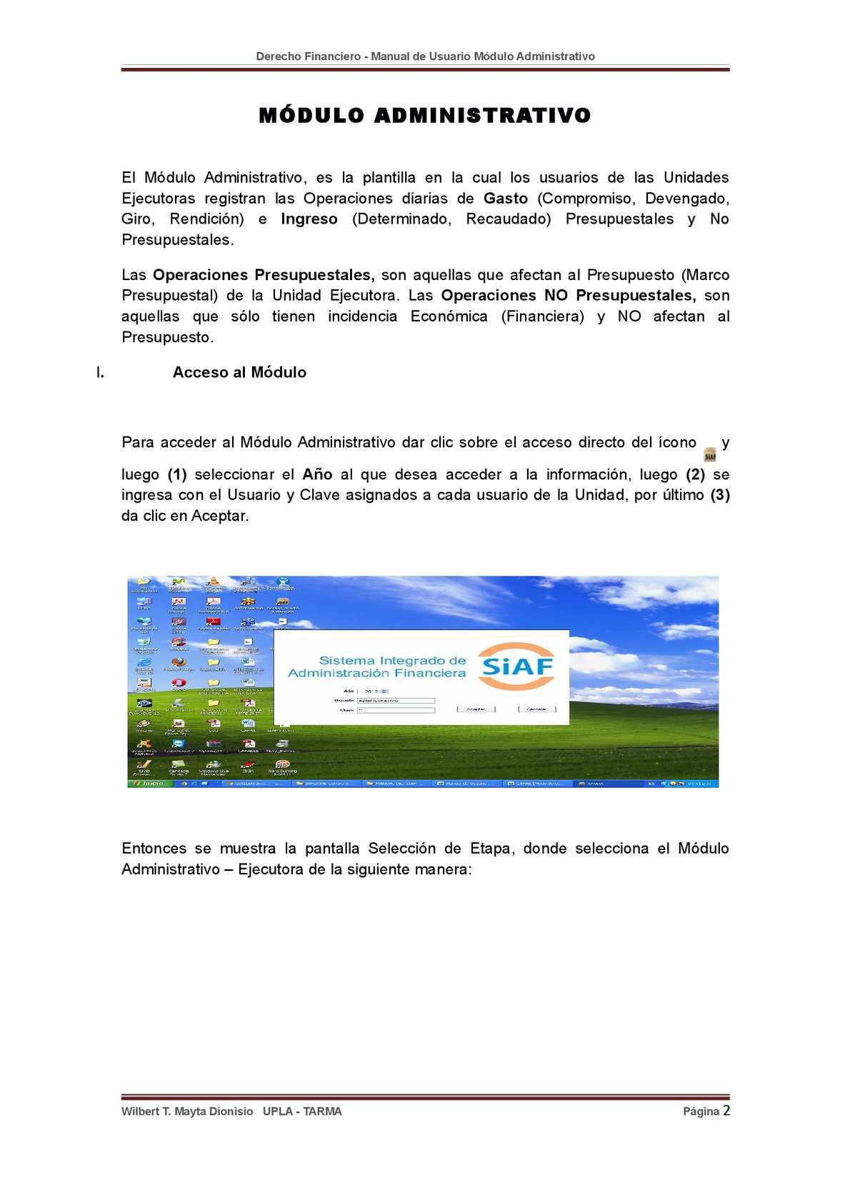 Manual Módulo Administrativo - CALAMEO Downloader