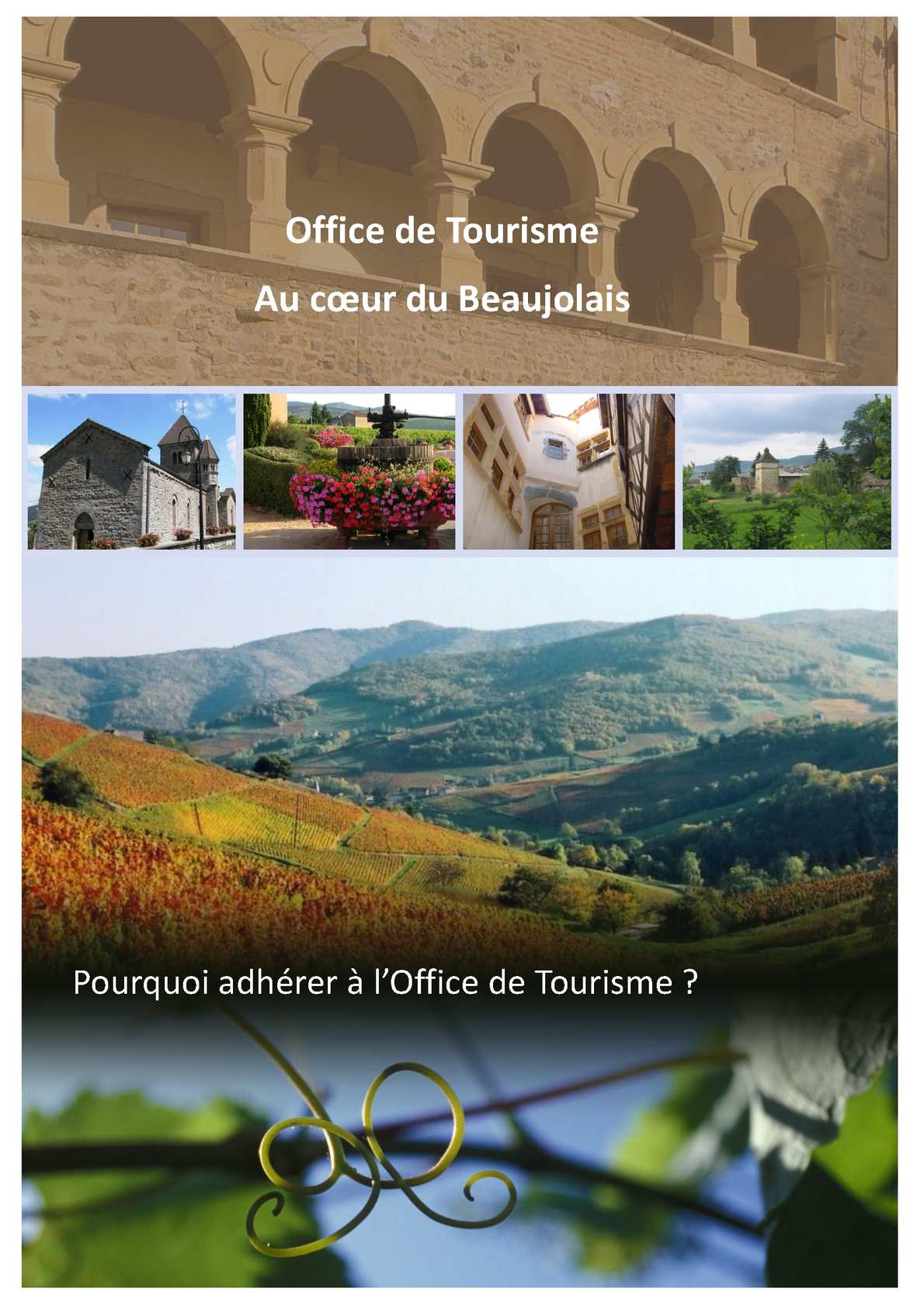 Calam o guide de l 39 adh rent office de tourisme au coeur du beaujolais - Office du tourisme des rousses ...