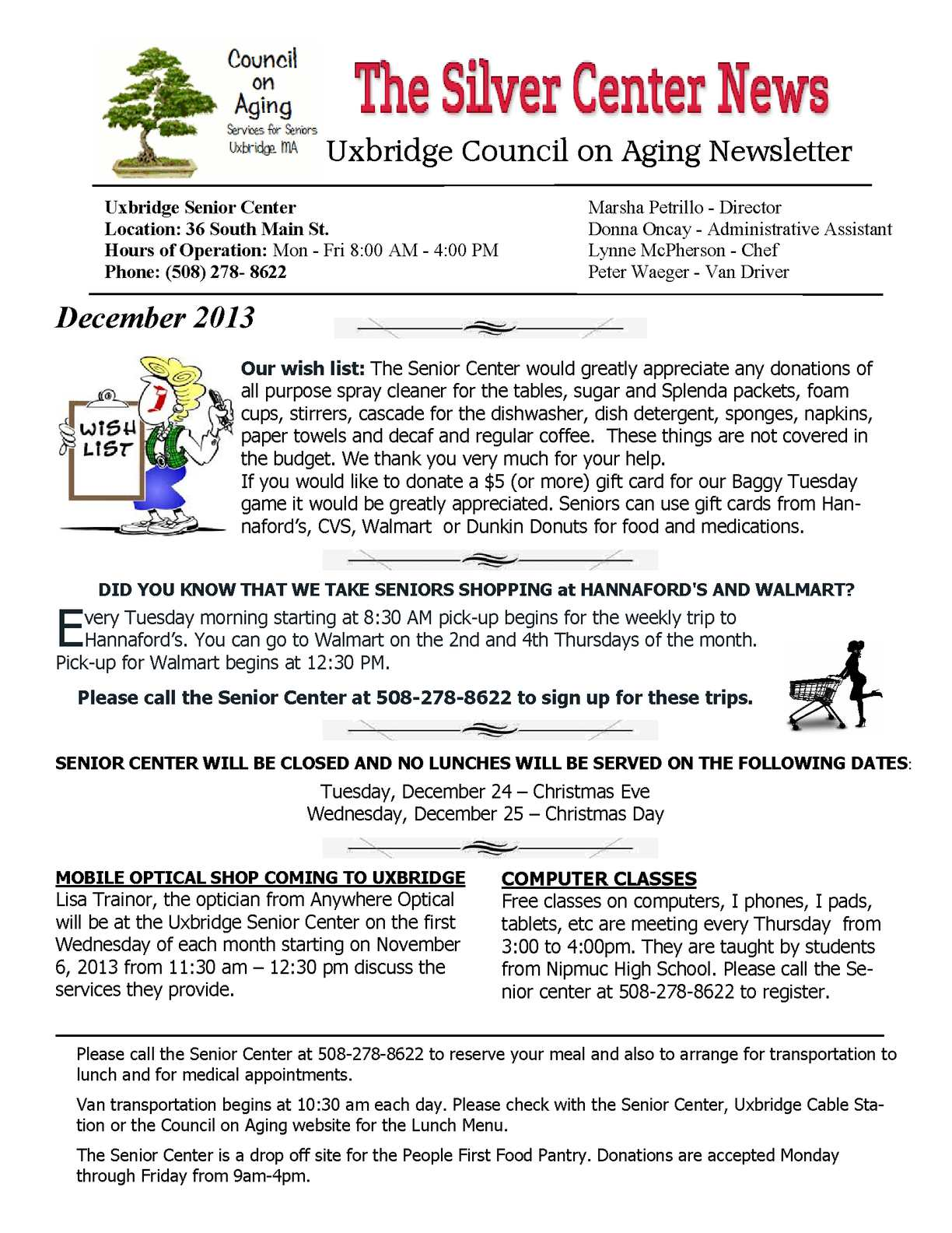 Calaméo - Uxbridge COA December Newsletter