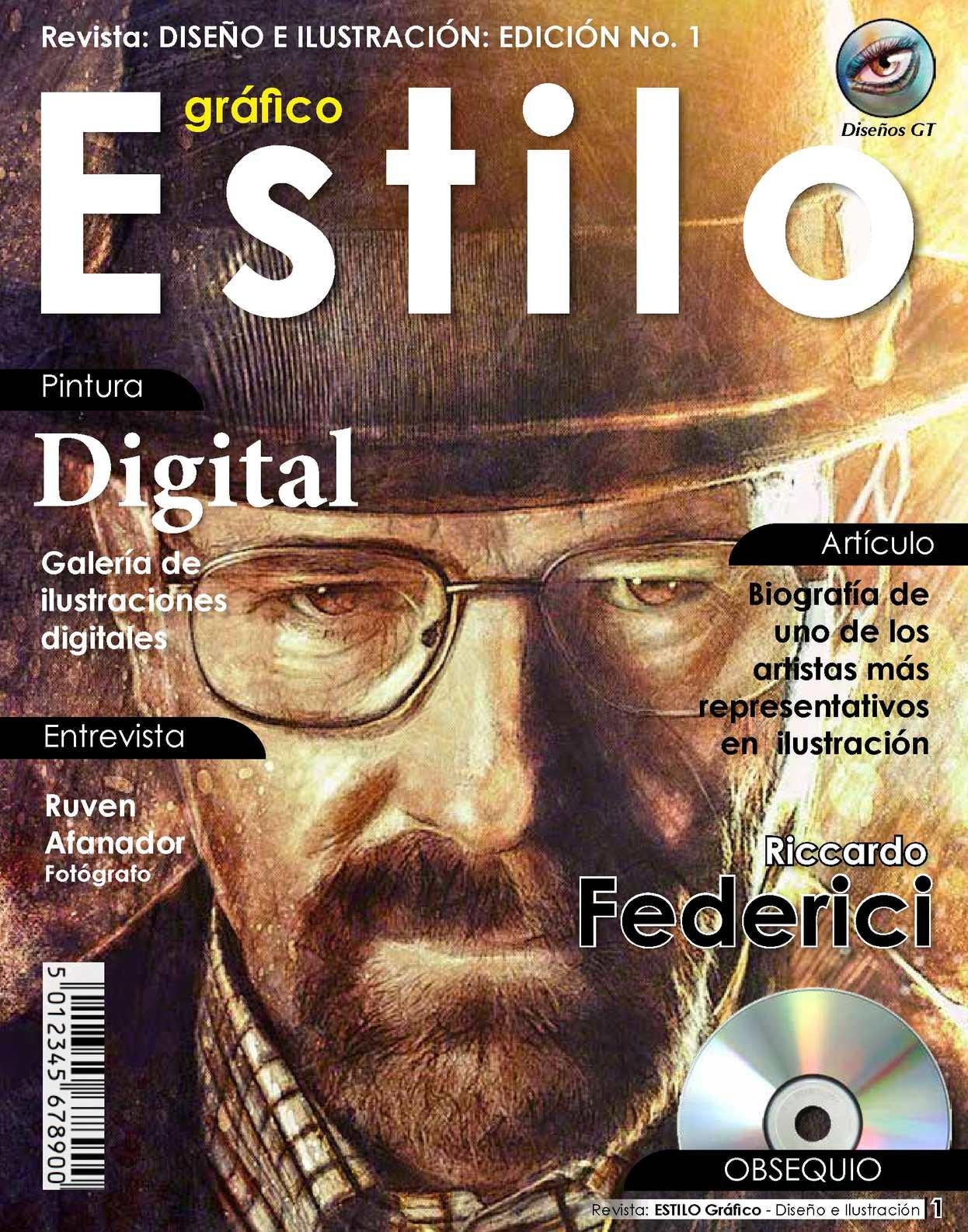Revista Diseño - Ilustración