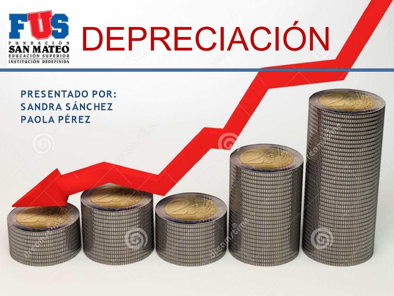 Depreciación contabilidad