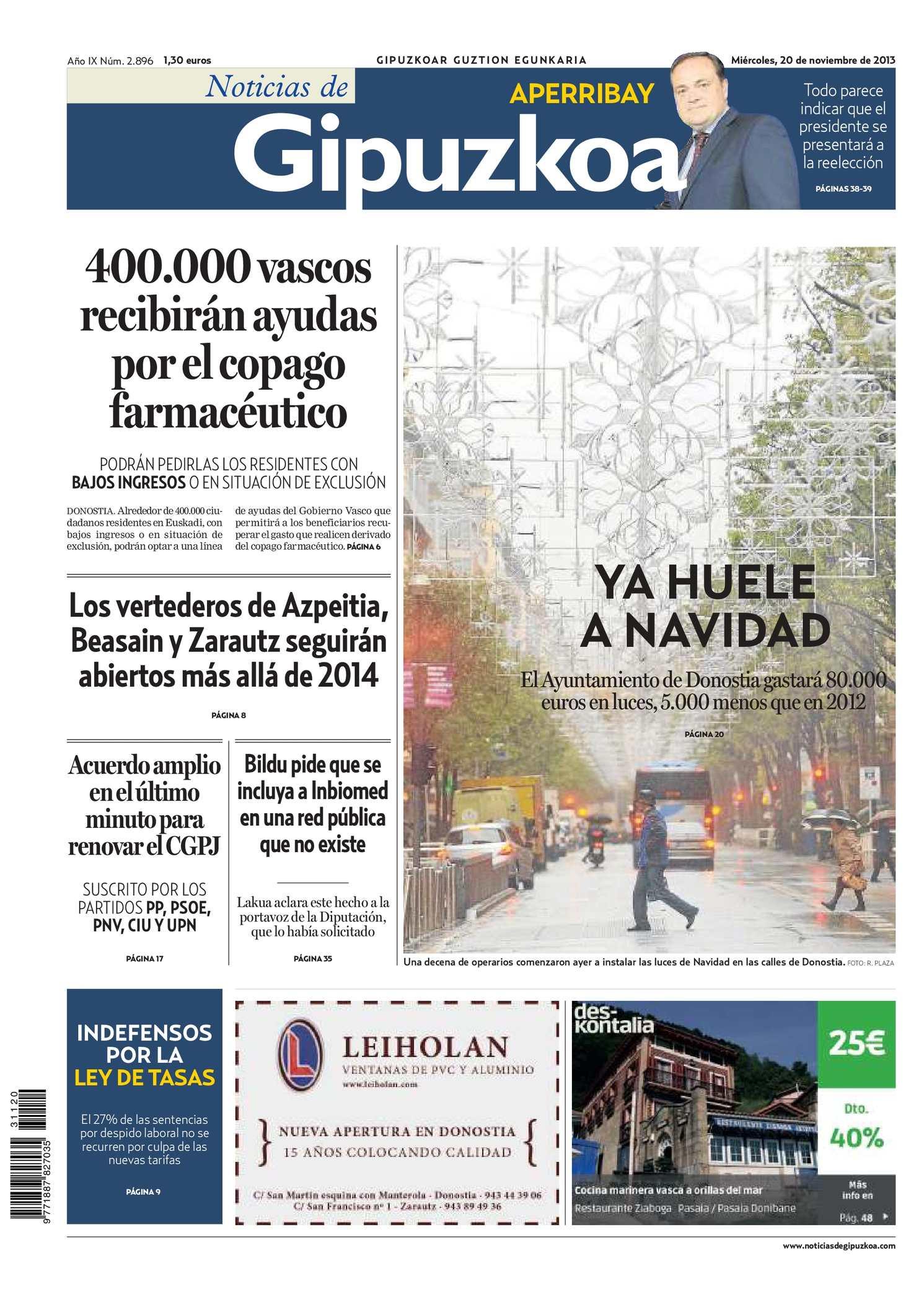 Calaméo - Noticias de Gipuzkoa 20131120