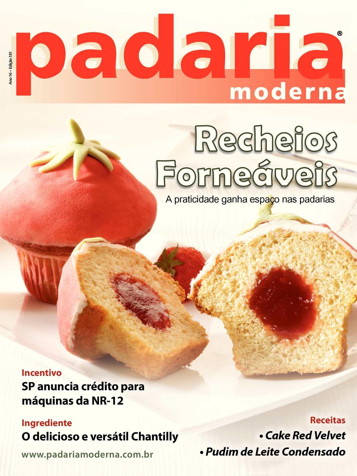 Revista Padaria Moderna - Edição 181