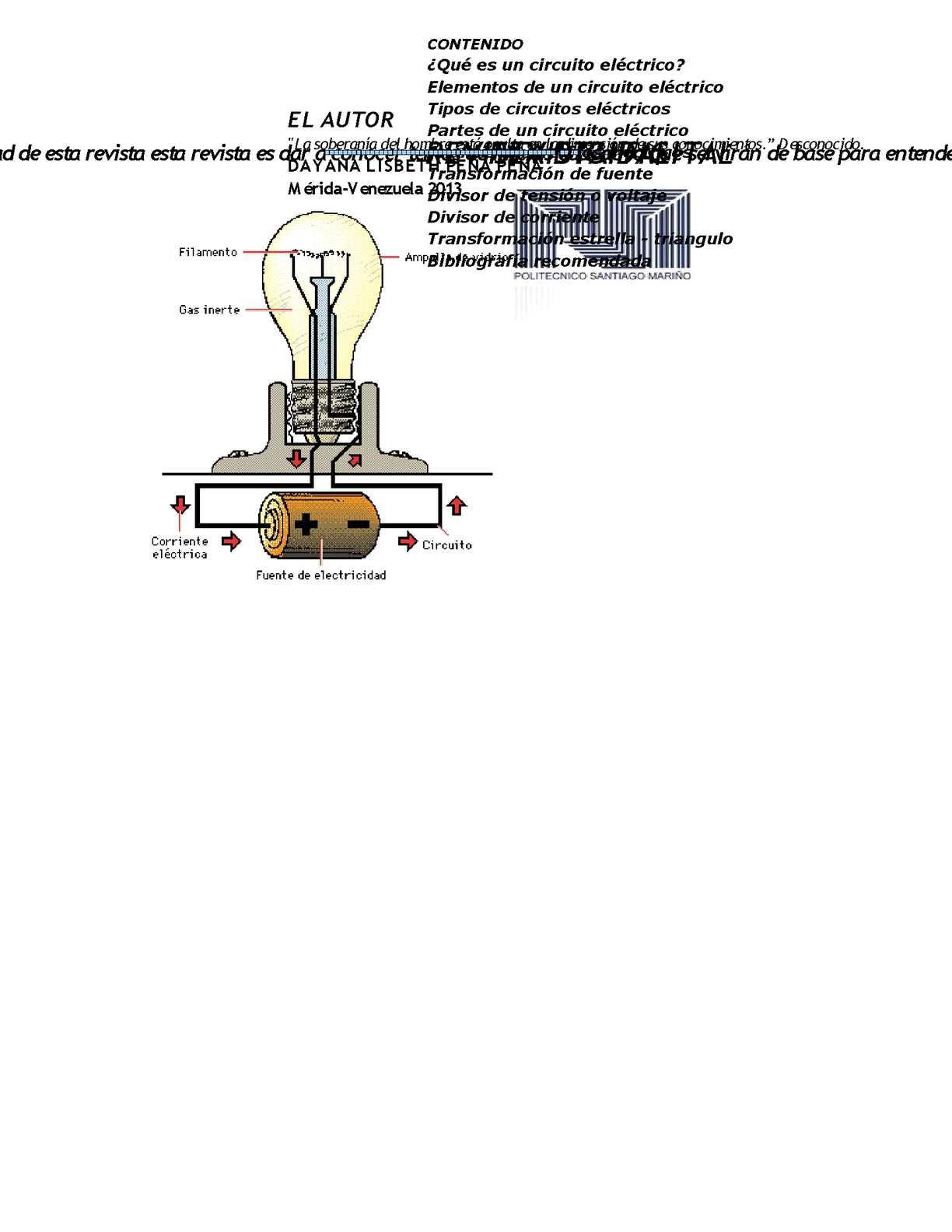 Circuito Electrico : Calaméo revista circuitos electricos
