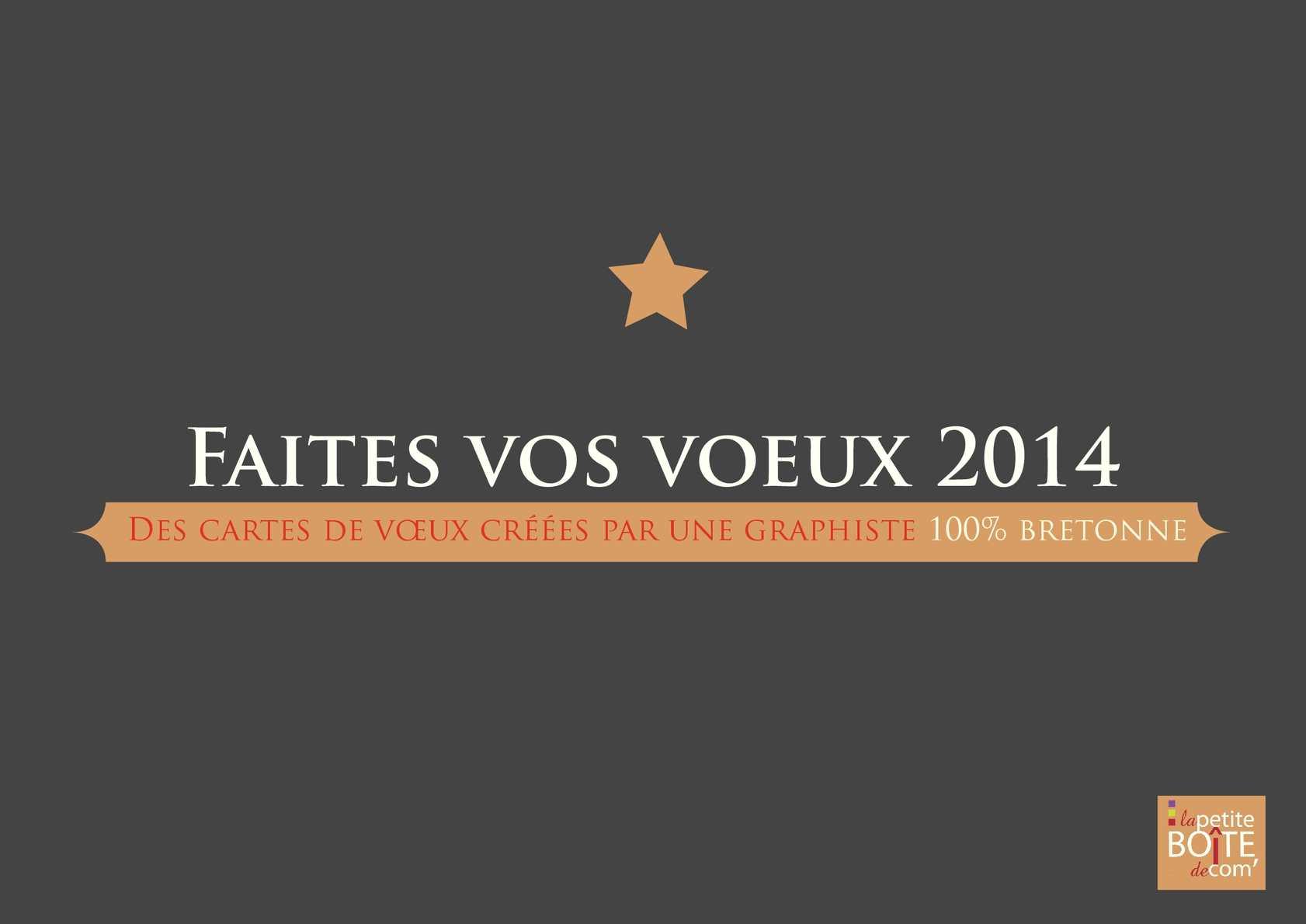 Catalogue voeux 2014