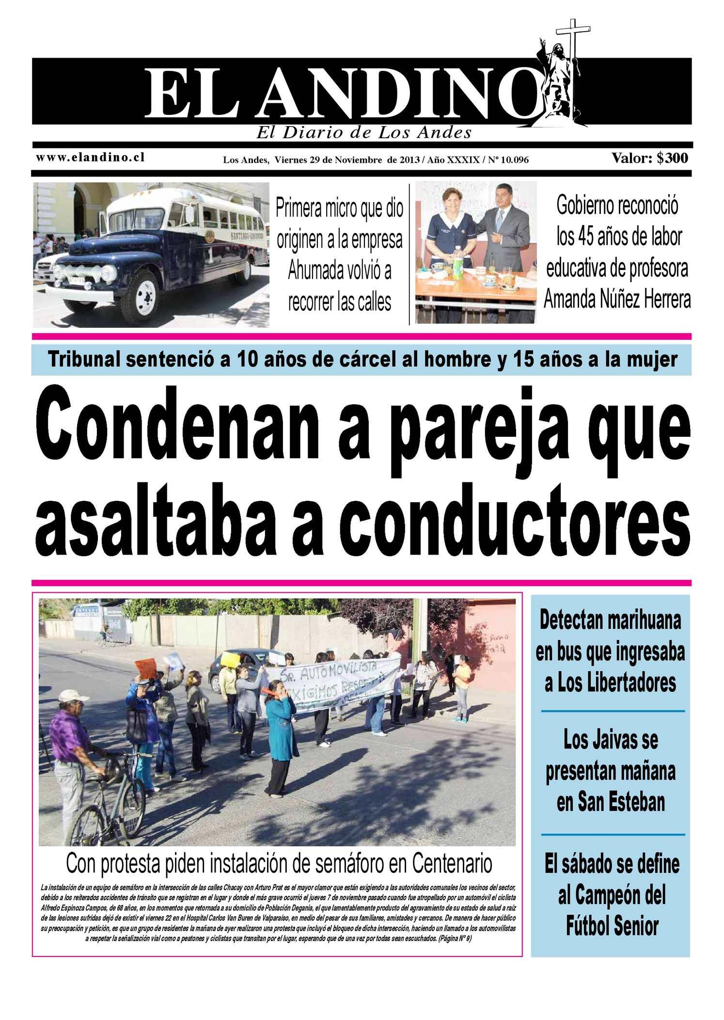 Calaméo - Diario El Andino - Viernes 29 de Noviembre de 2013