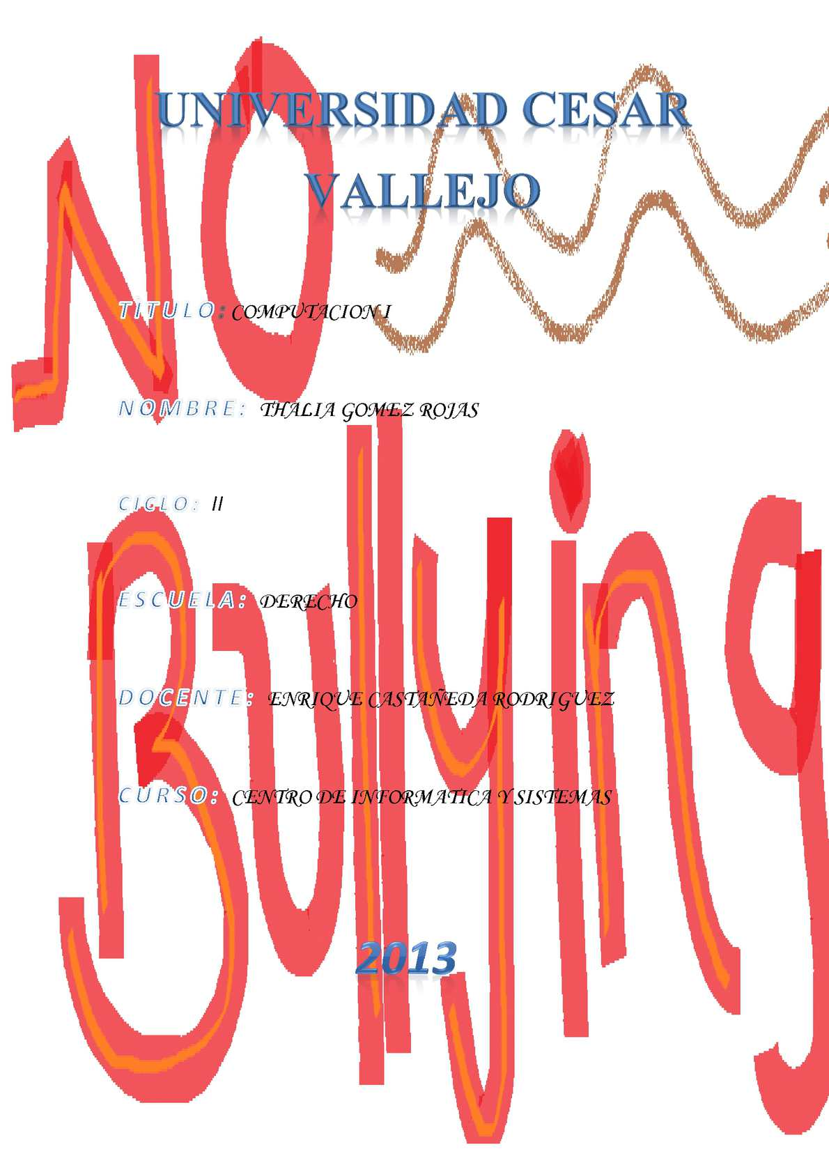 Monografia sobre bullying