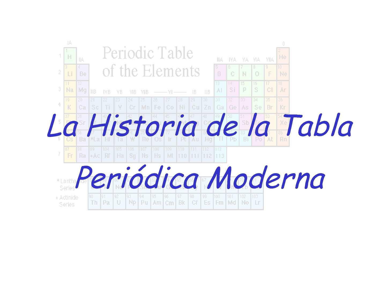 Calamo historia de la tabla peridica urtaz Images