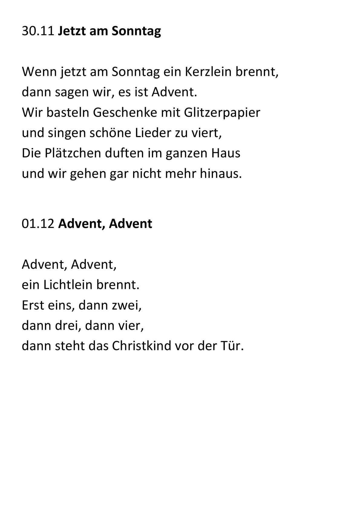 Weihnachtsgedichte deutscher dichter