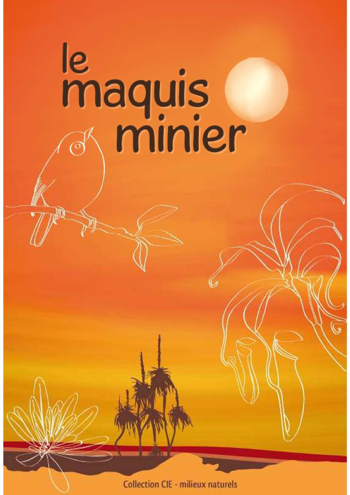 Le Maquis minier - Collection CIE