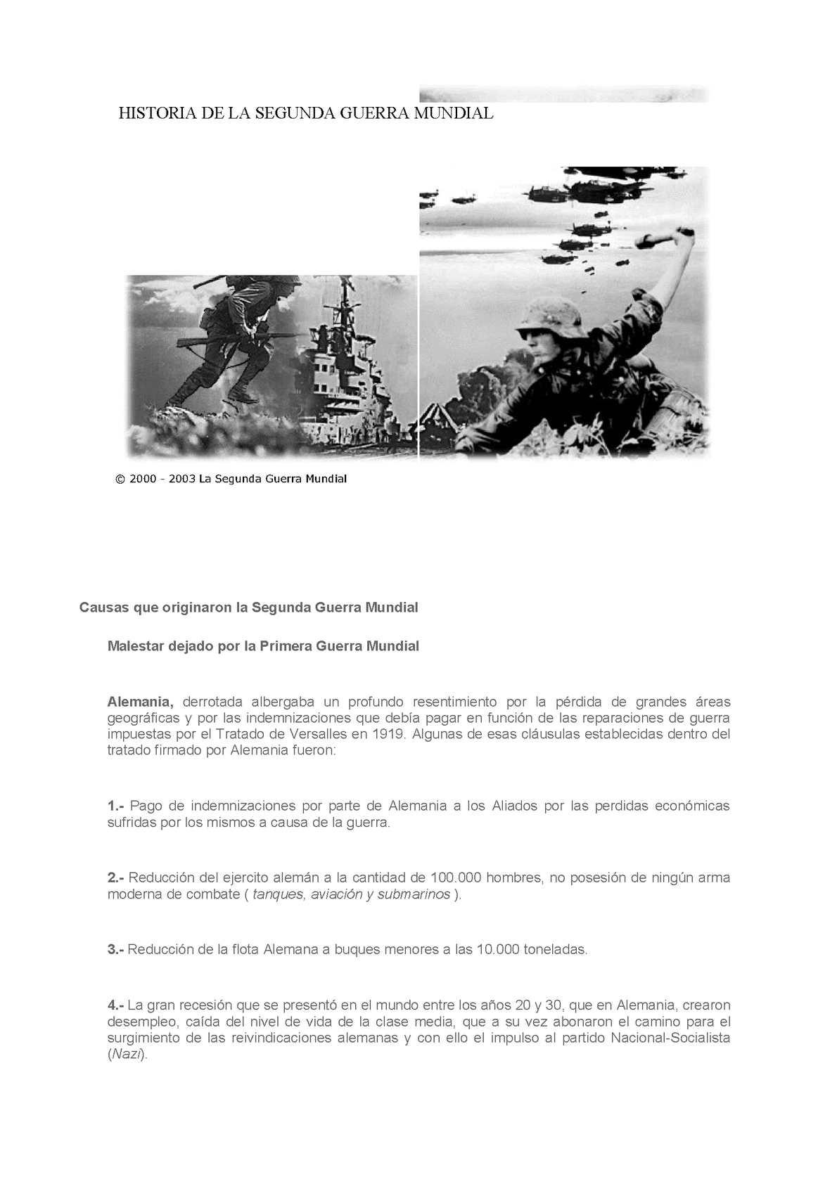 Calaméo - LA SEGUNDA GUERRA MUNDIAL
