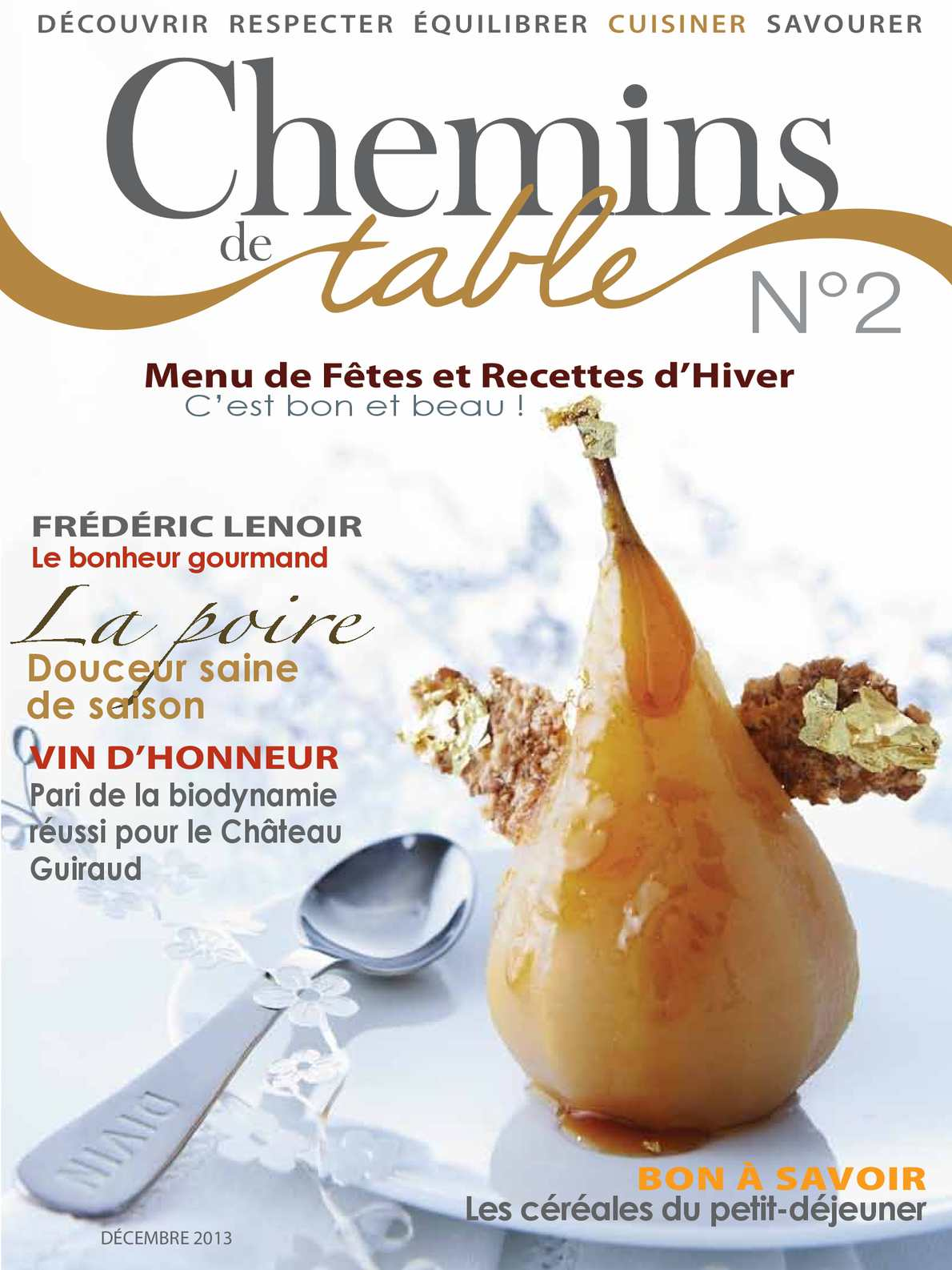 Chemins de table Magazine N°2