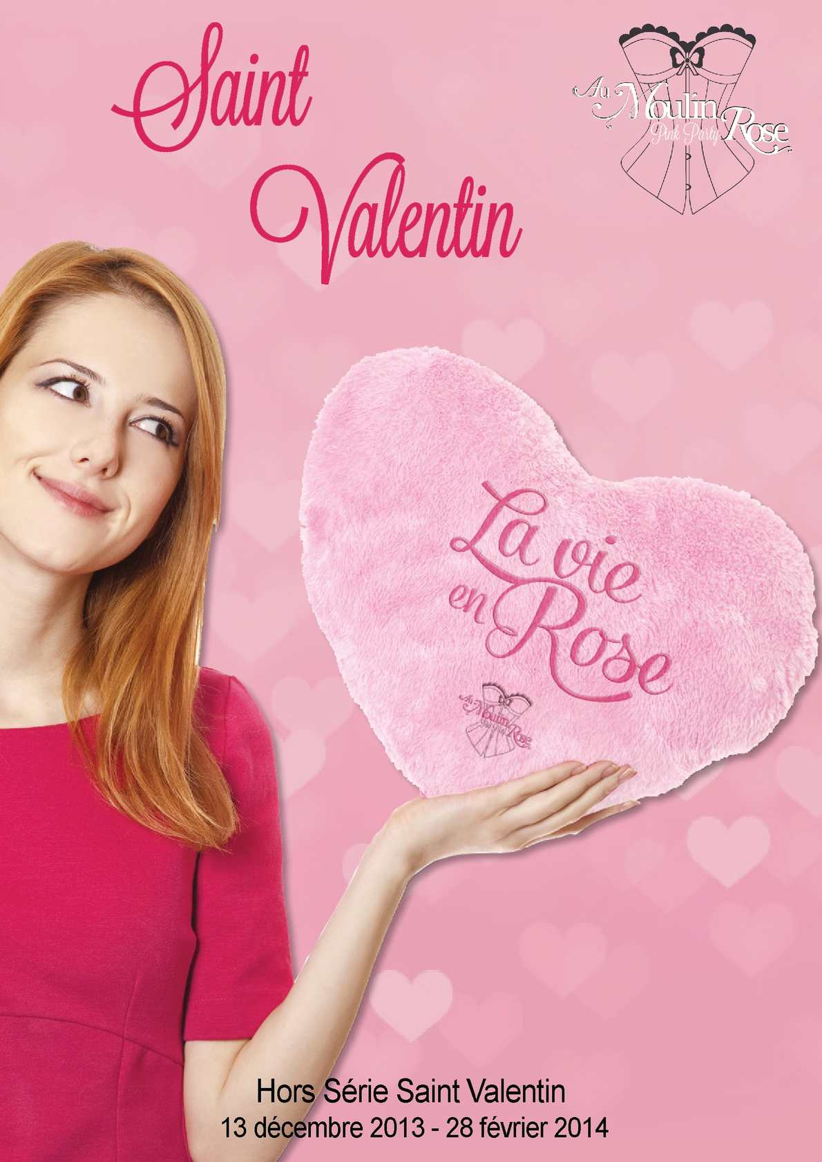 """Catalogue Pink Party """"St Valentin 2014""""'"""