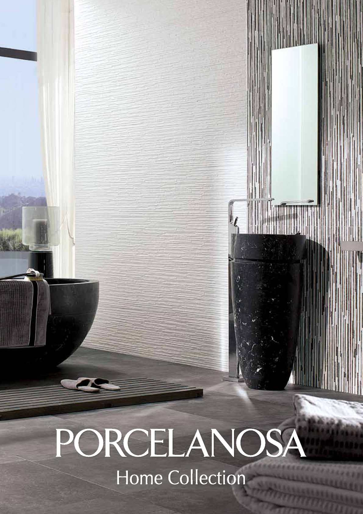 Calam o catalogue porcelanosa home collection for Porcelanosa carrelage salle de bain