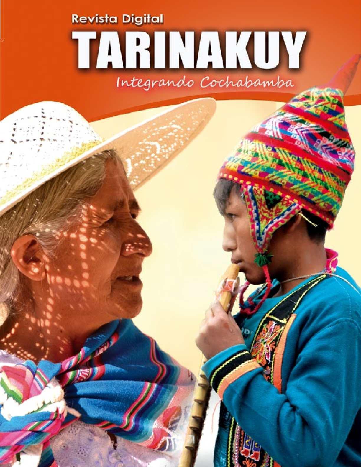 TARINAKUY, Revista de integración interprovincial y urbana de Cochabamba-Bolivia