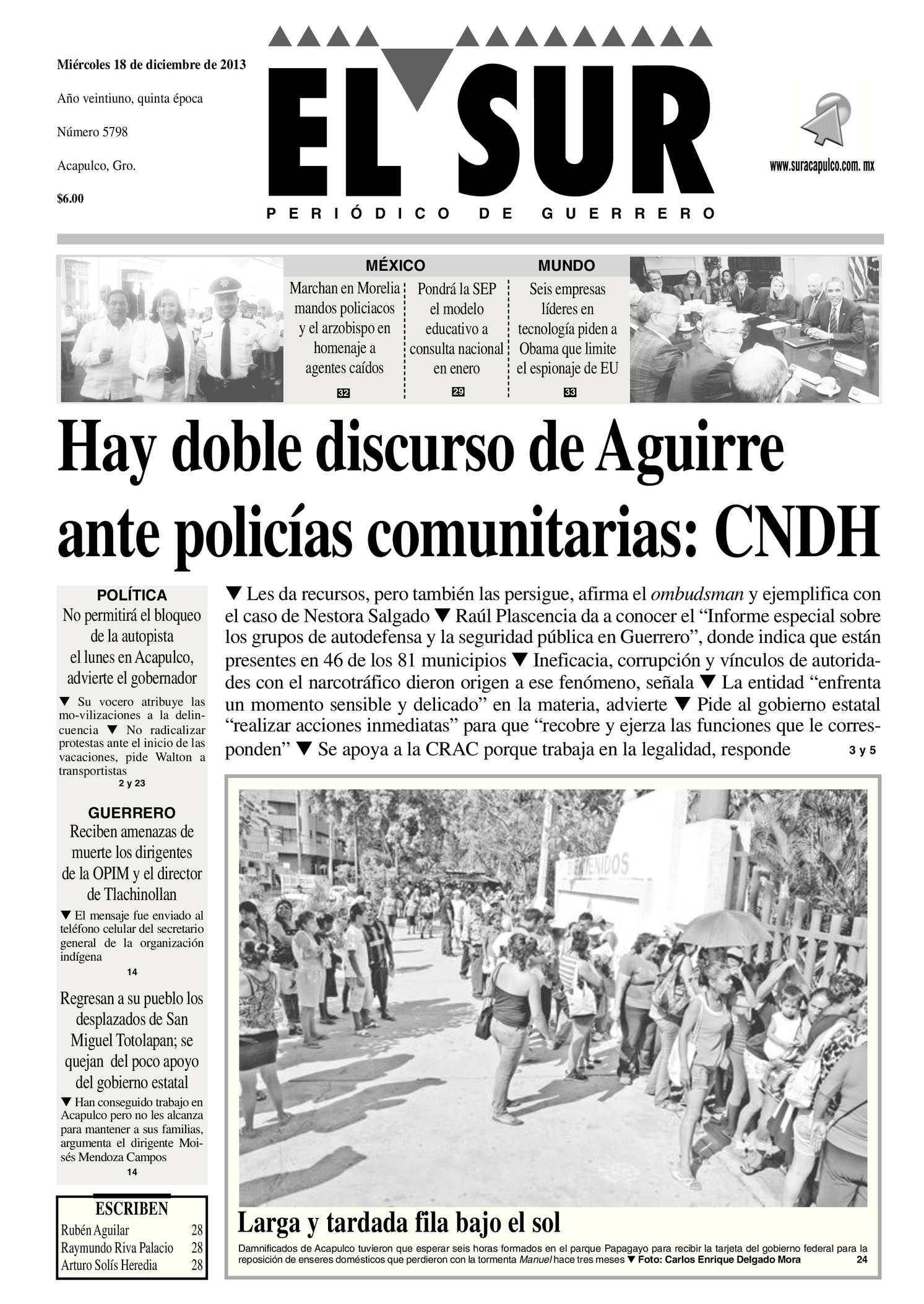 Calaméo - El Sur Miércoles 18122013.pdf