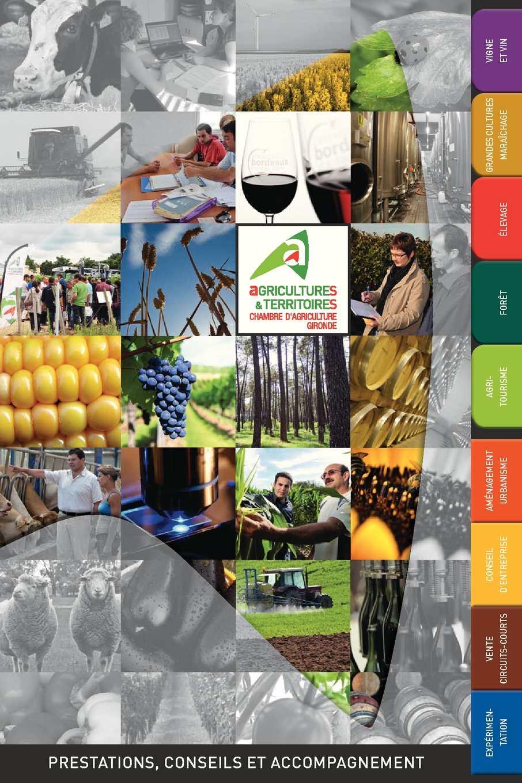 Catalogue des prestations - Chambre d'Agriculture de la Gironde