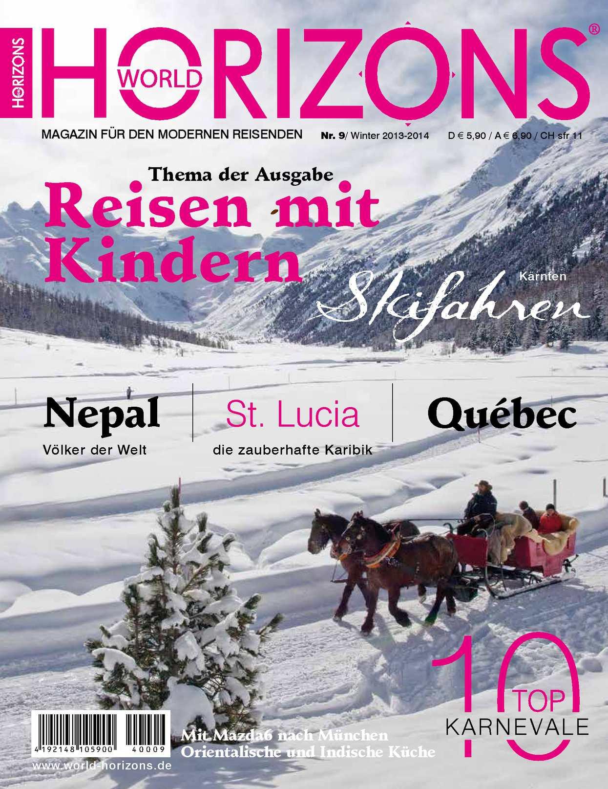 World Horizons Nummer 9 - Winter 2013/2014
