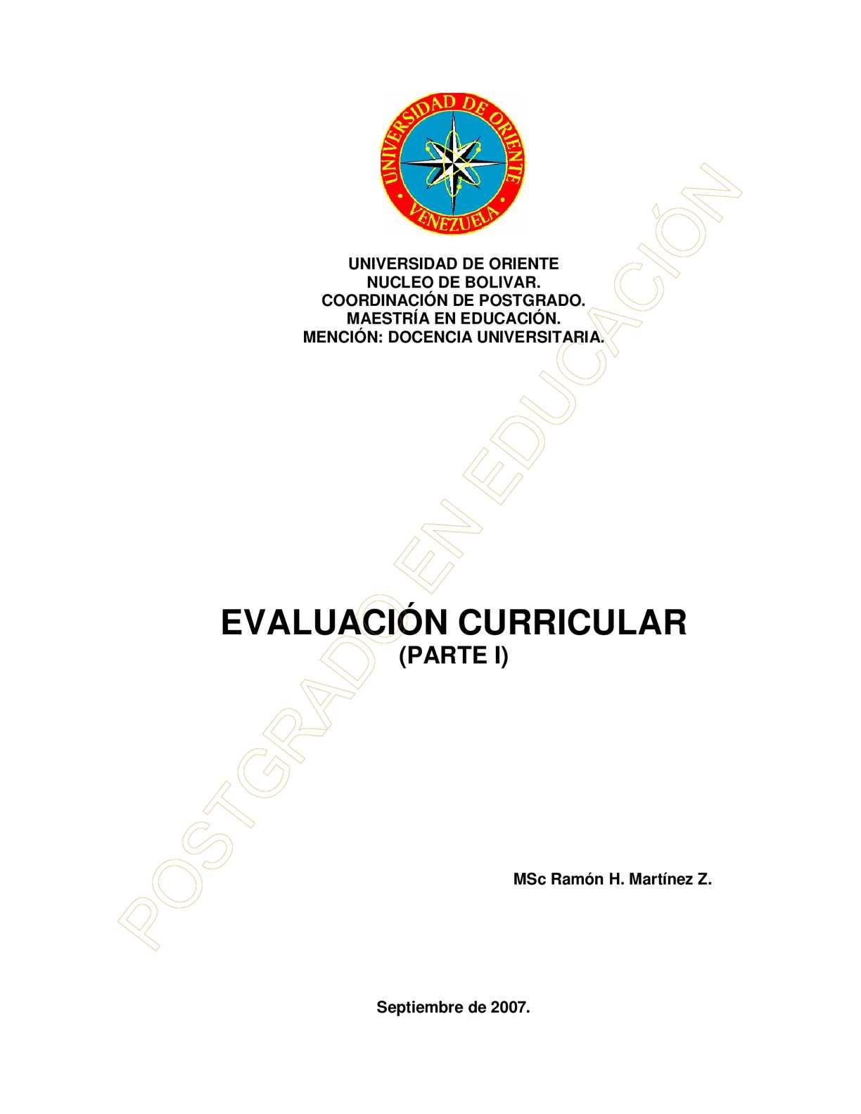 Calaméo - EVALUACIÓN CURRICULAR