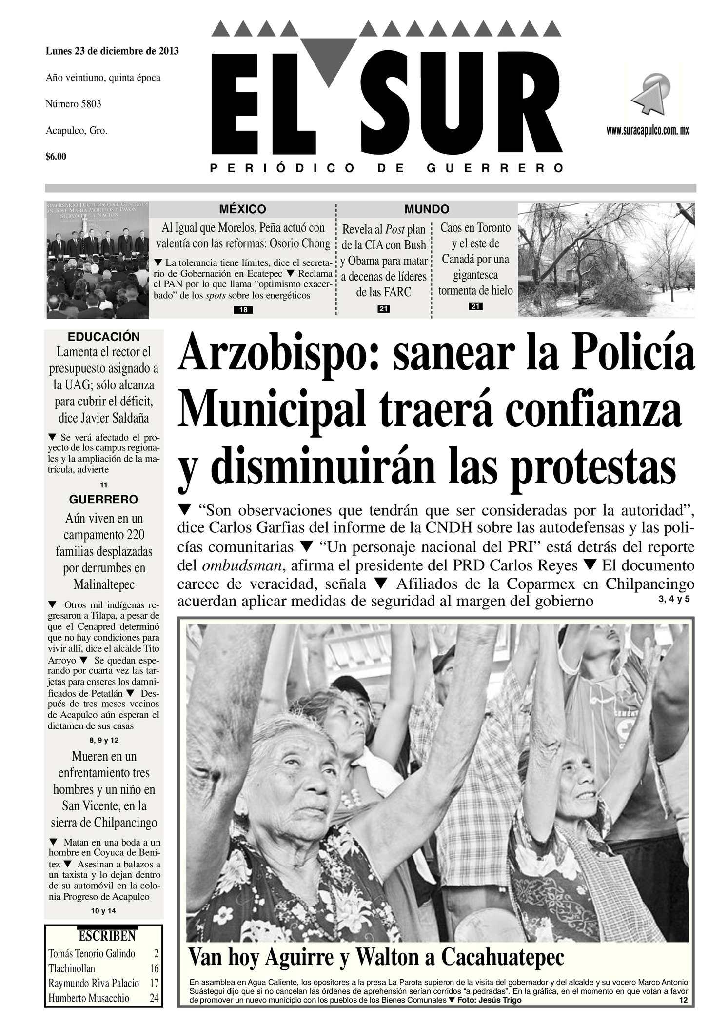 Calaméo - El Sur Lunes 23122013.pdf