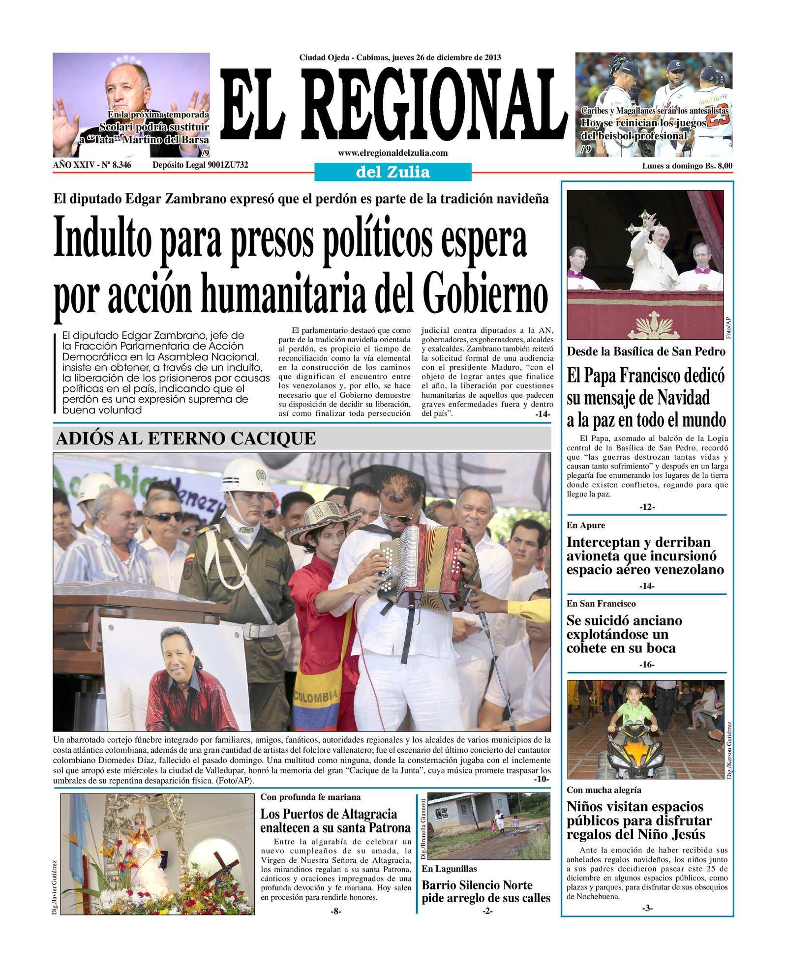 Calaméo - El Regional del Zulia 26-12-2013 2a7a766f4f6