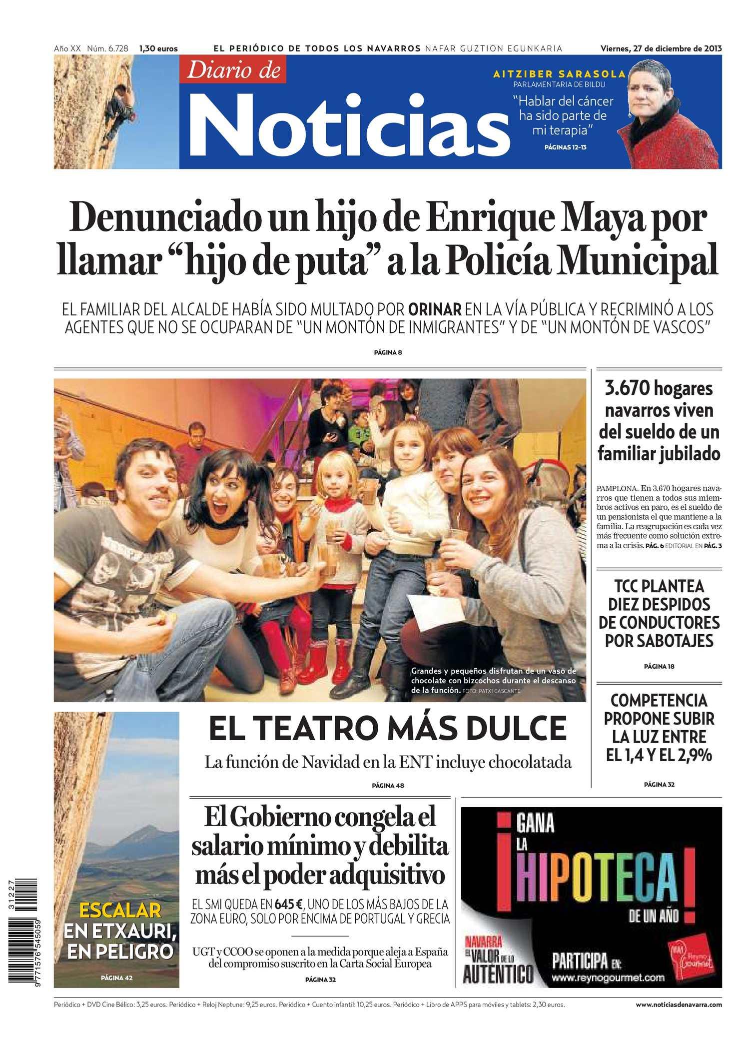 Calaméo - Diario de Noticias 20131227