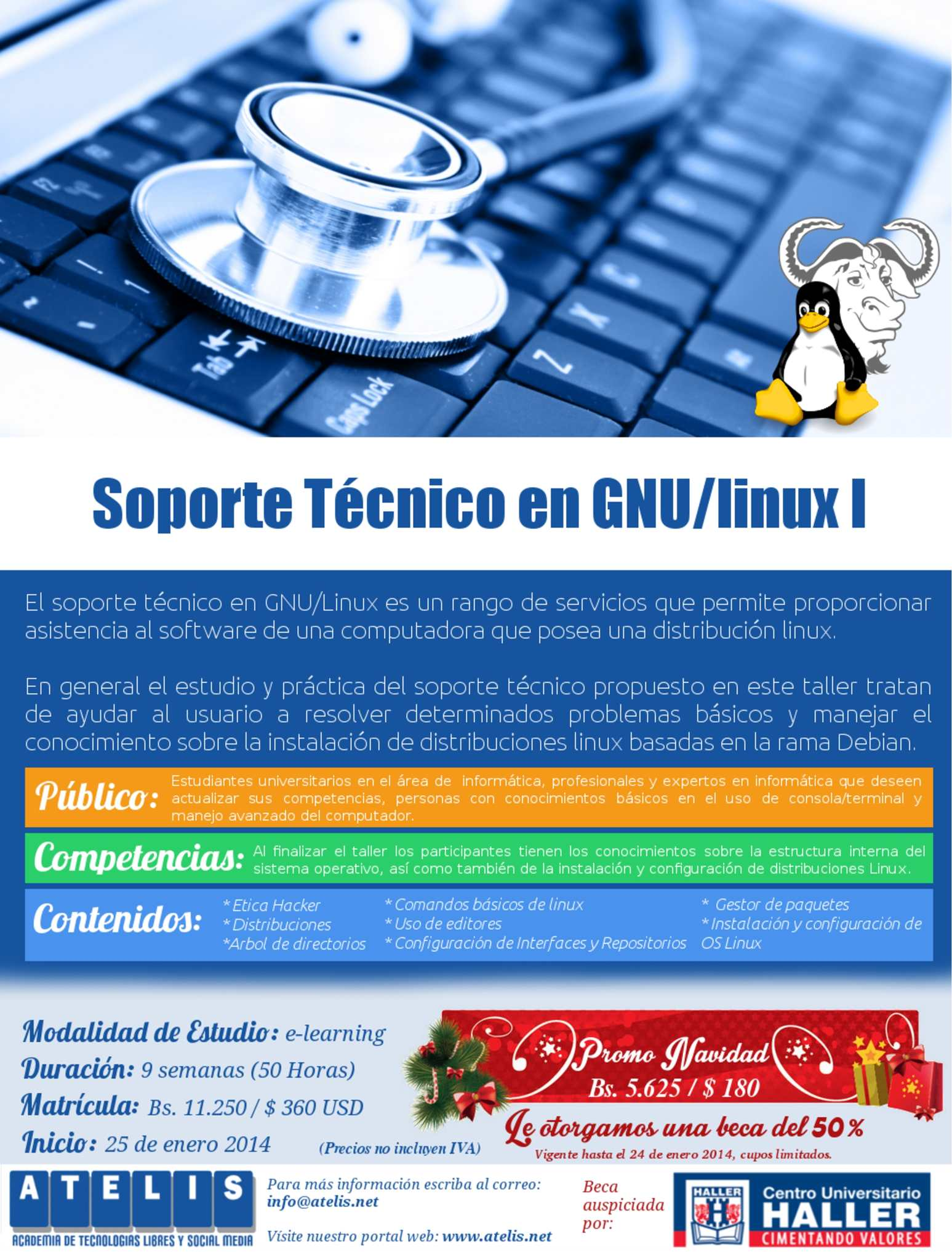 Soporte Técnico GNU/Linux I