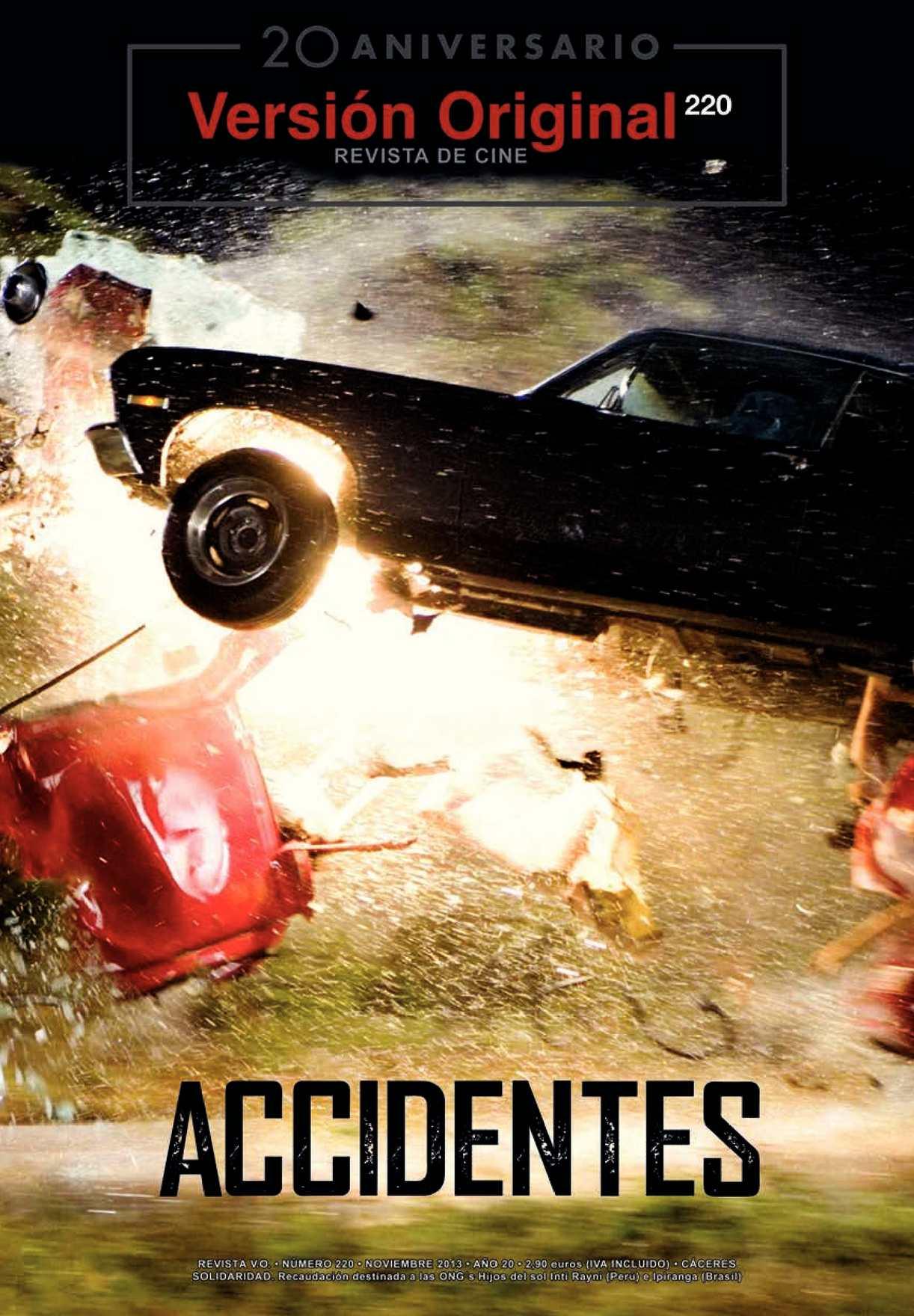 Revista de Cine Versión Original 220. Accidentes