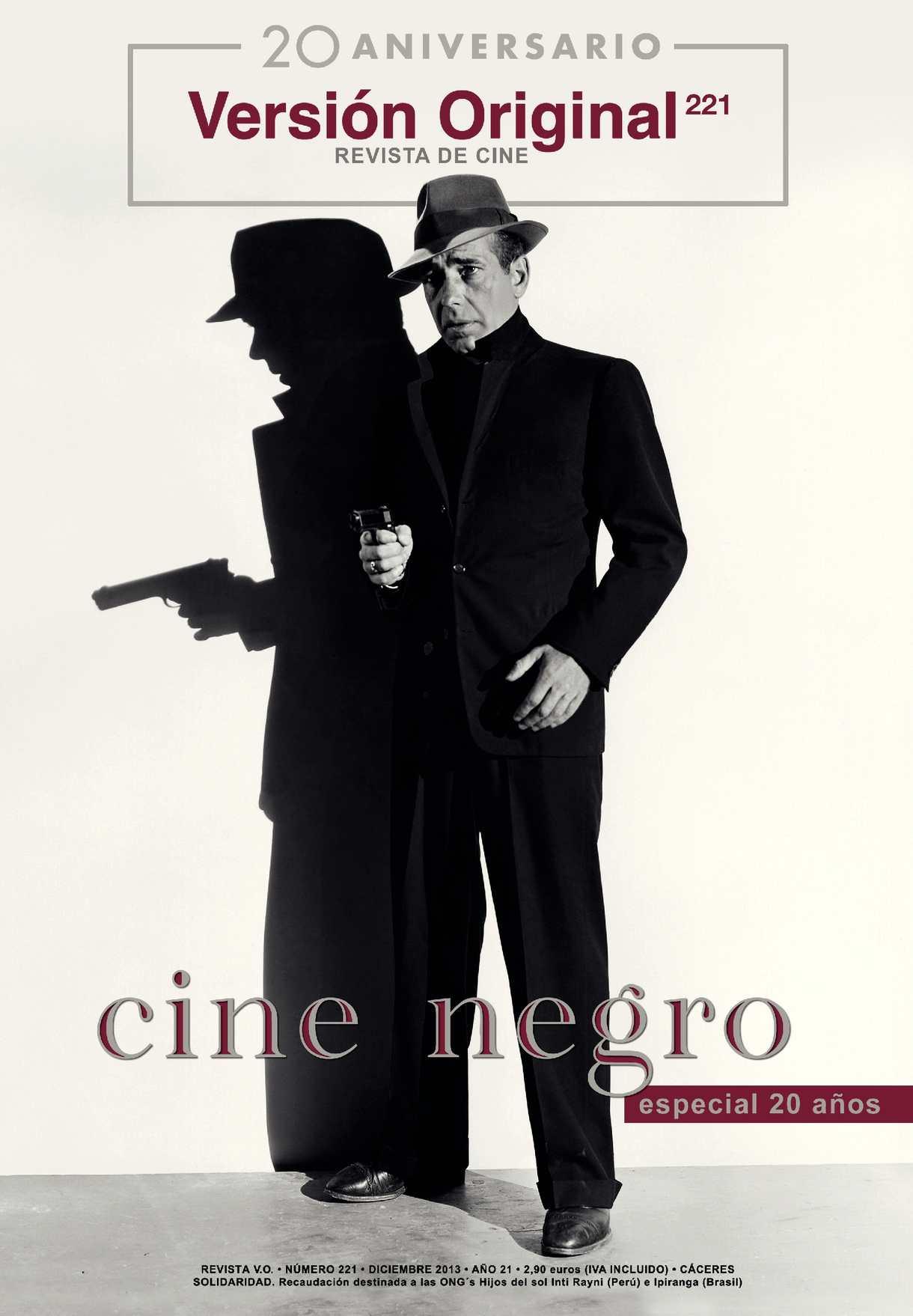 Revista de Cine Versión Original 221. Cine negro. Especial 20 Aniversario