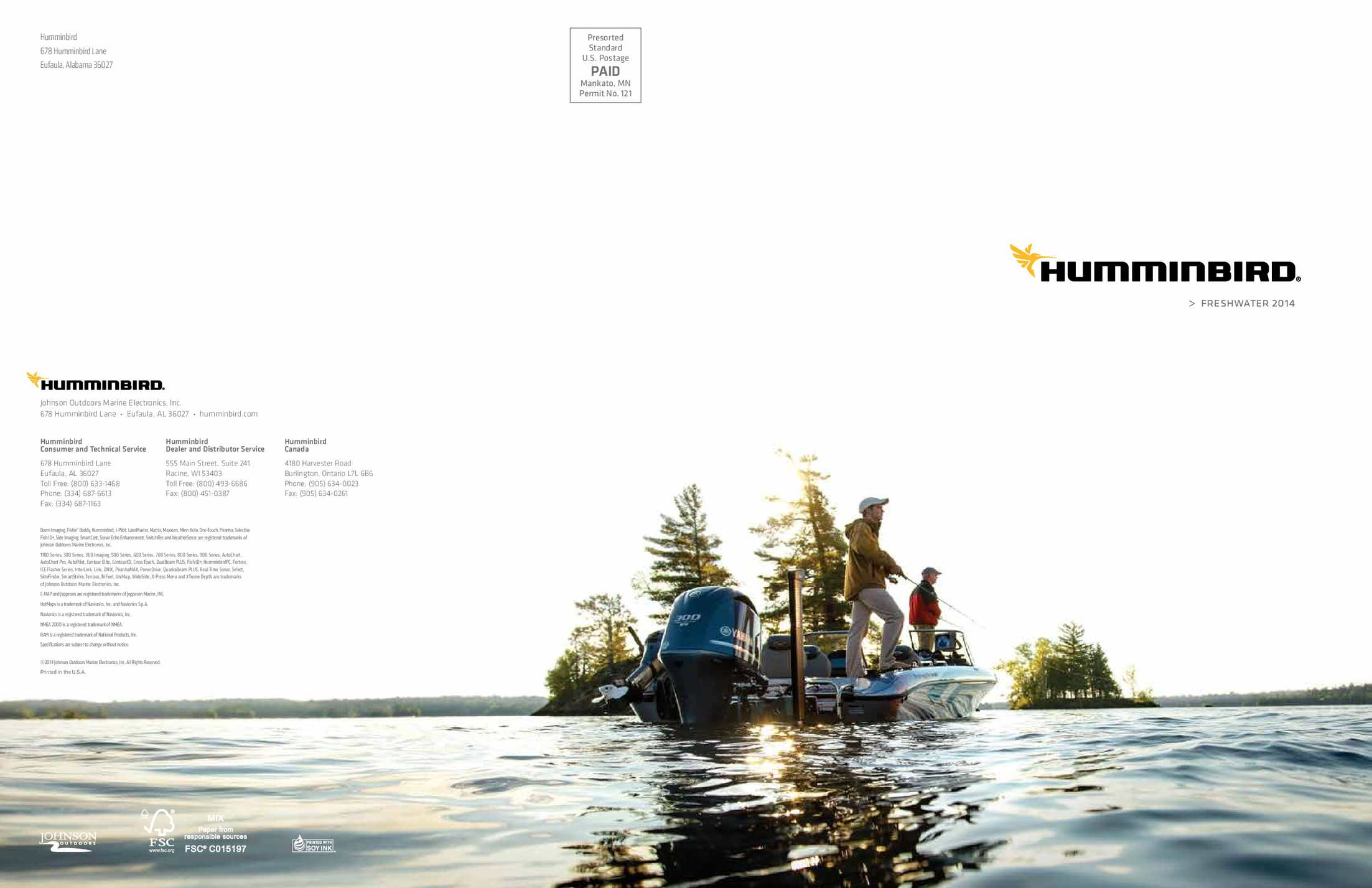 Calamo Humminbird Catalog 2014 Nmea 0183 Wiring Diagram