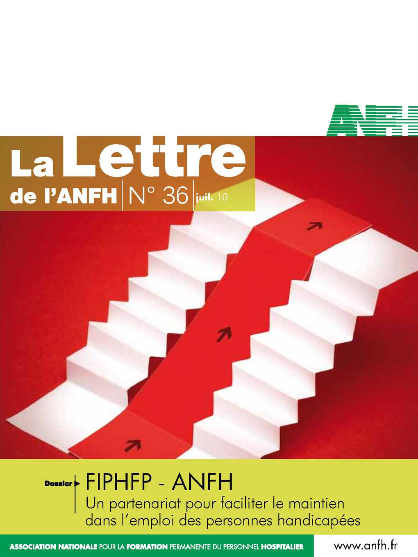 Calam o lettre de l 39 anfh n 36 juillet 2010 anfh - Grille attache d administration hospitaliere ...