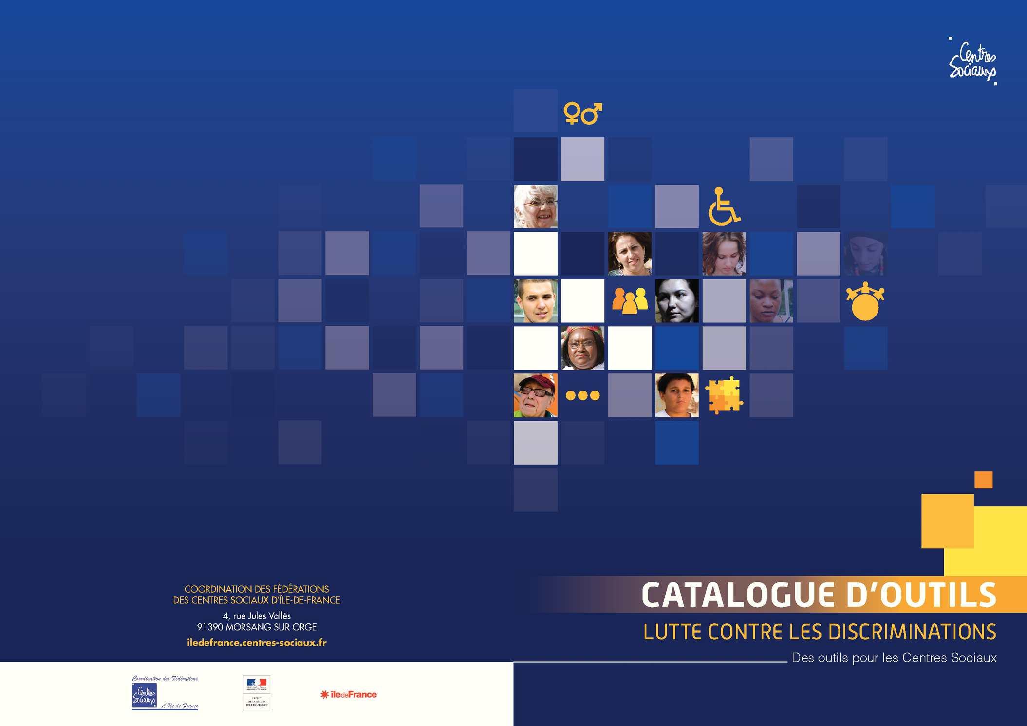 Catalogue d'outils pour la lutte contre les discriminations