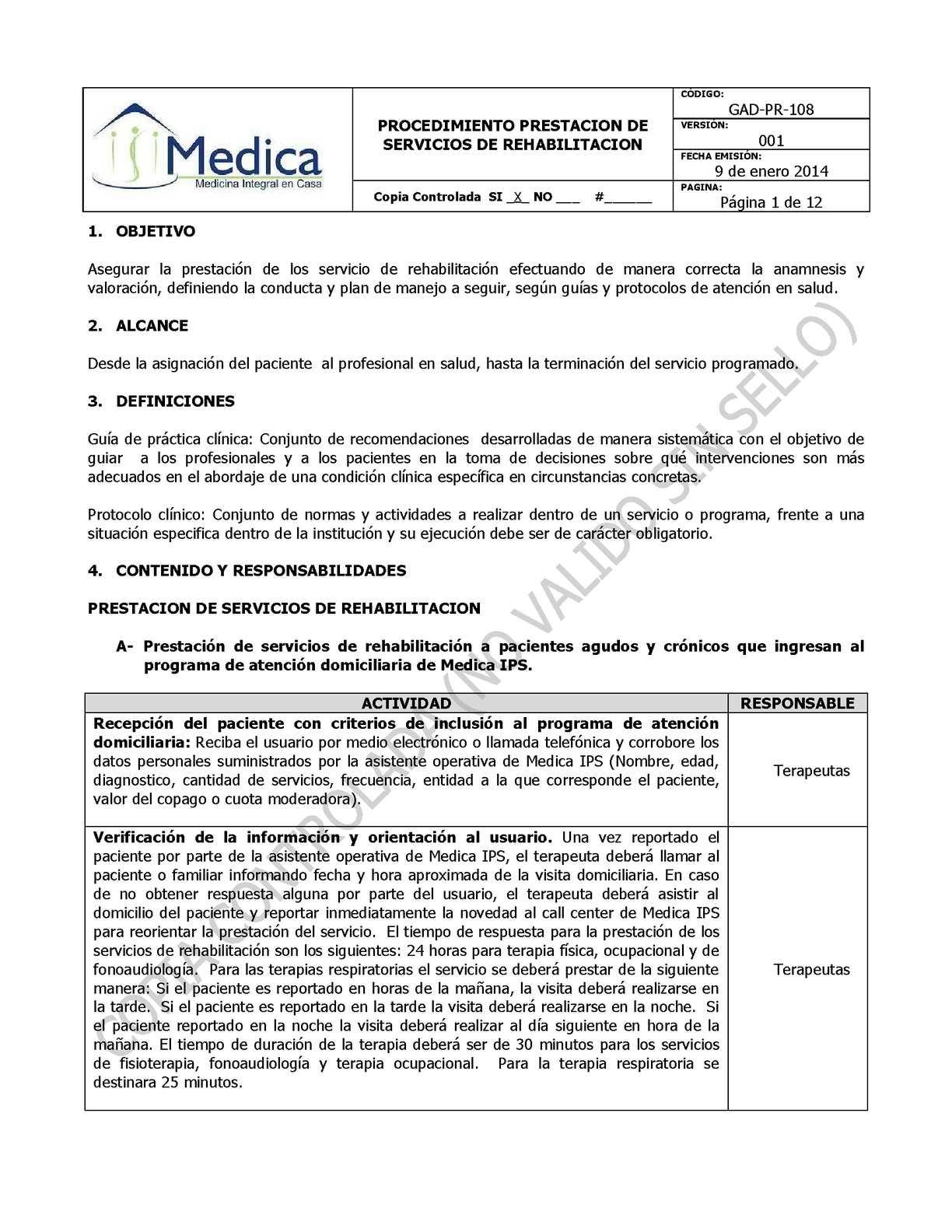 Calaméo - GAD-PR-108 PROC - REHABILITACION