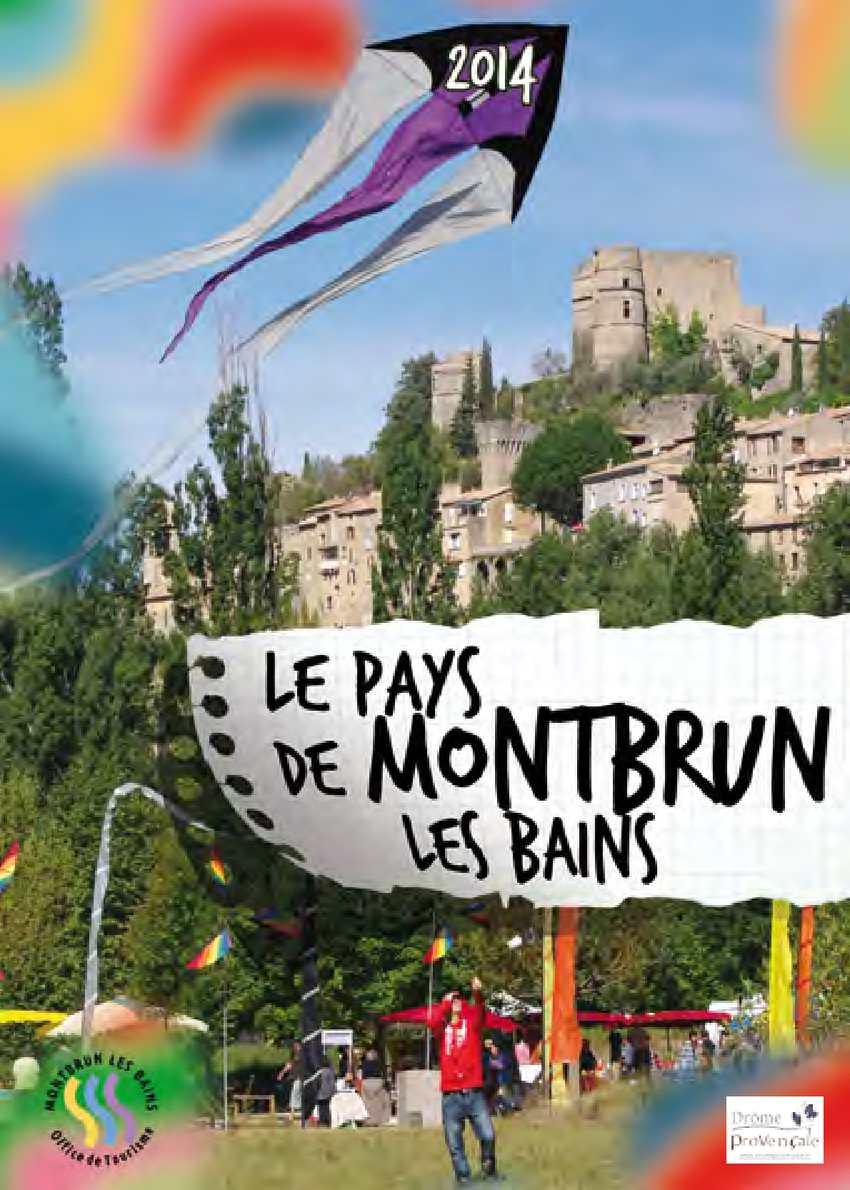 Calam o brochure touristique du pays de montbrun les - Office du tourisme montbrun les bains ...