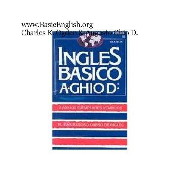 manual basico de ingles