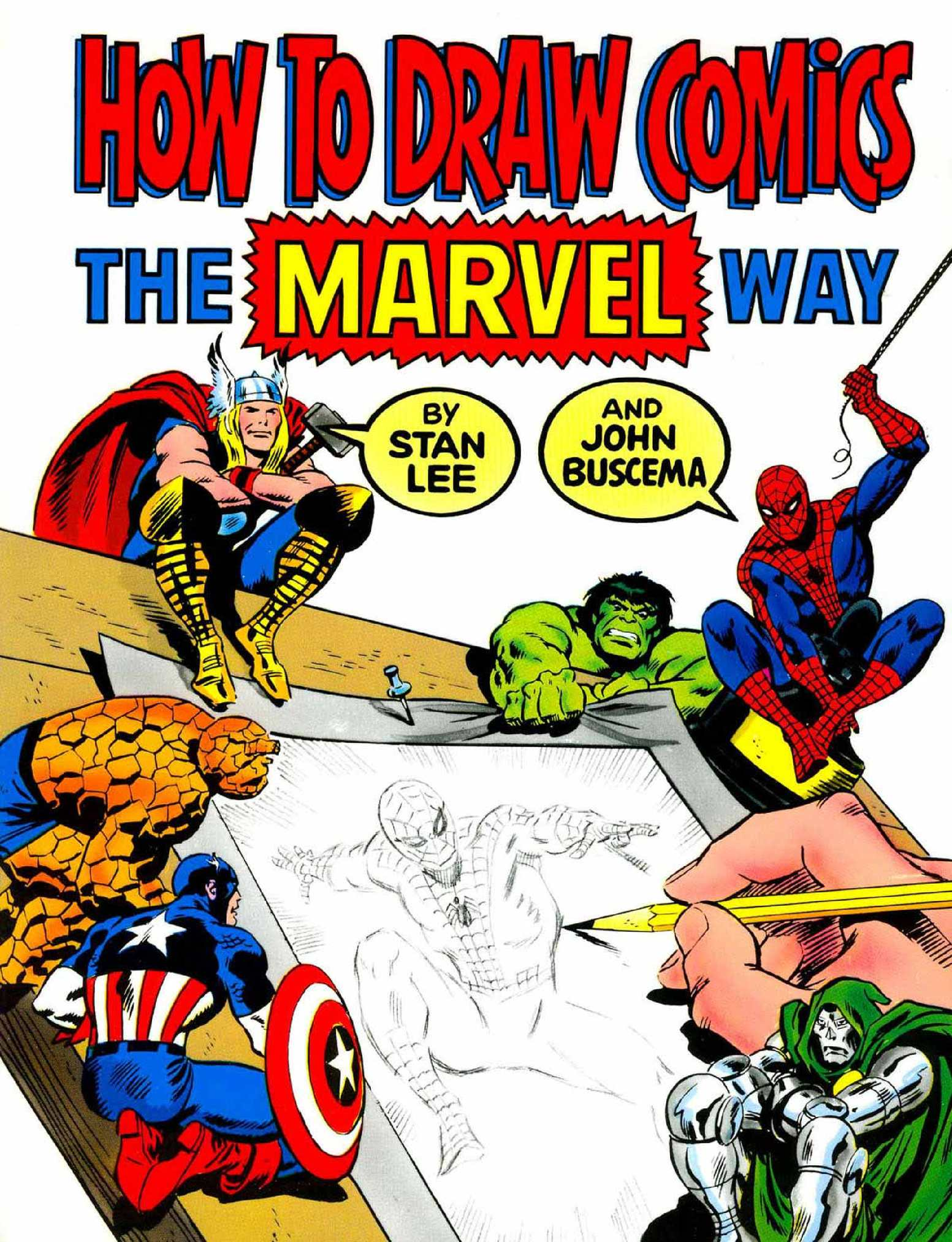 Dibujar comics Marvel