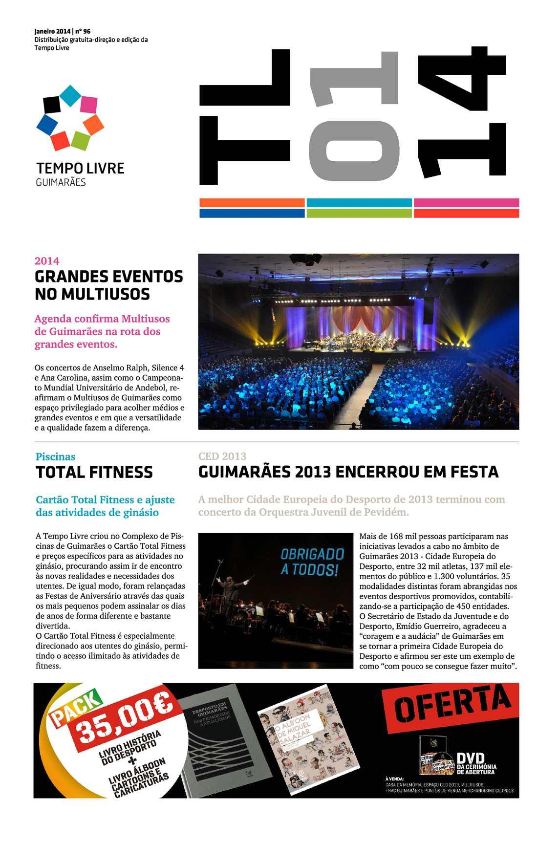 Boletim informativo da Tempo Livre - janeiro de 2014