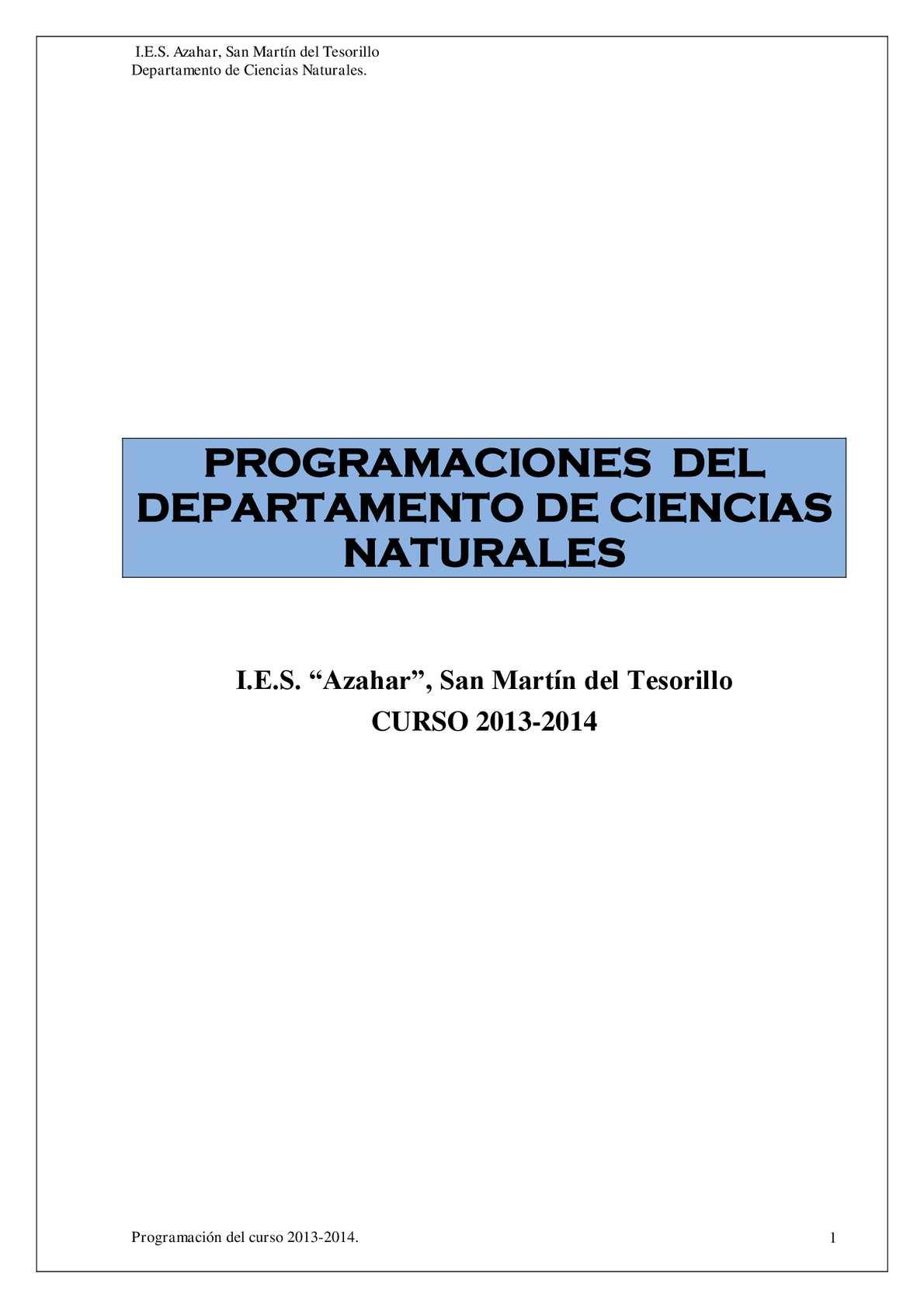 Calaméo - Programación CCNN 13-14