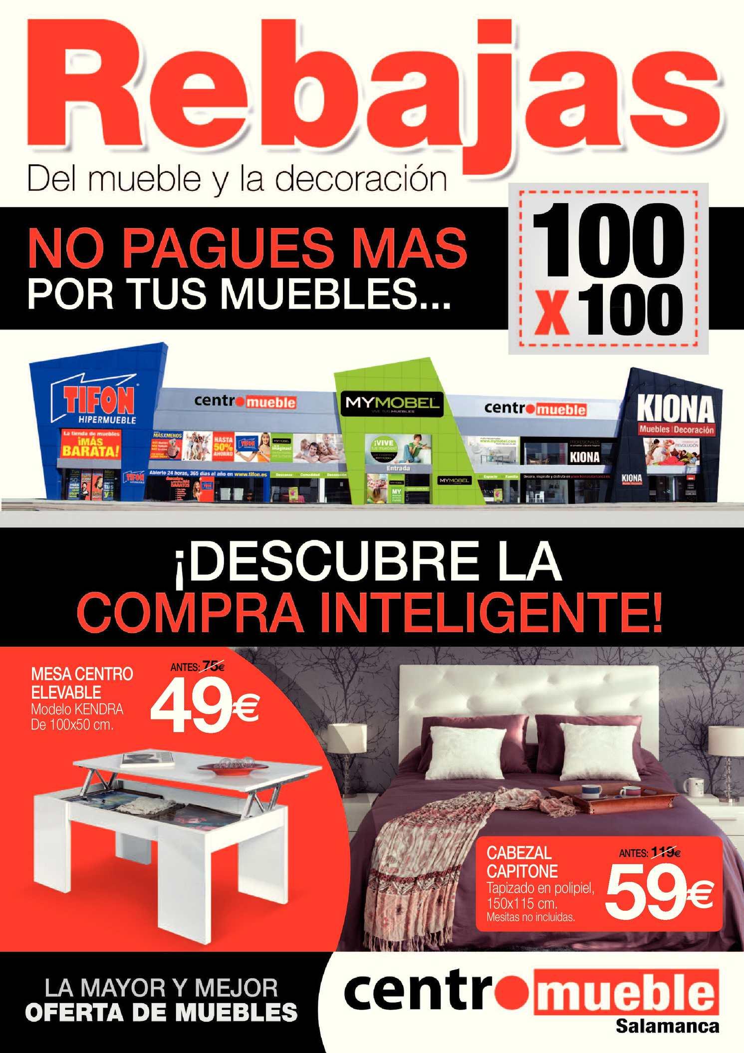 Calam O Rebajas Del Mueble Inteligentes Con Los Muebles Mas  # Muebles Kiona Valladolid