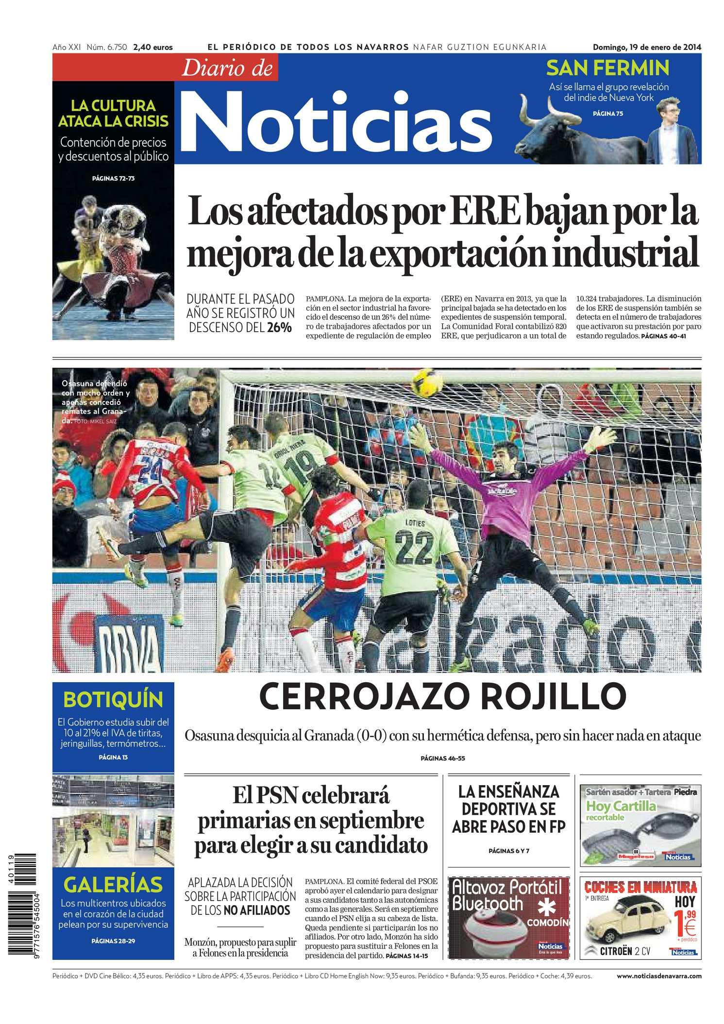Calaméo - Diario de Noticias 20140119